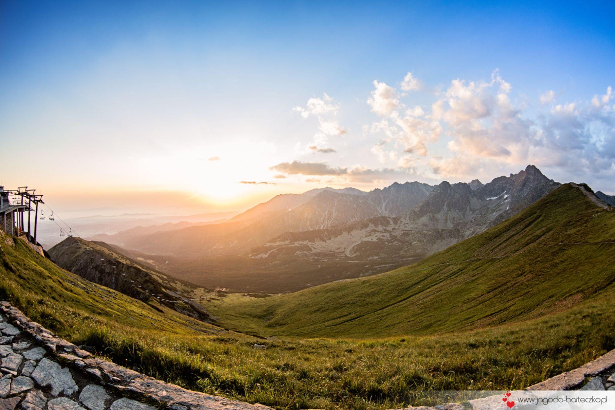 Sunrise in Zakopane by Jagoda Barteczko