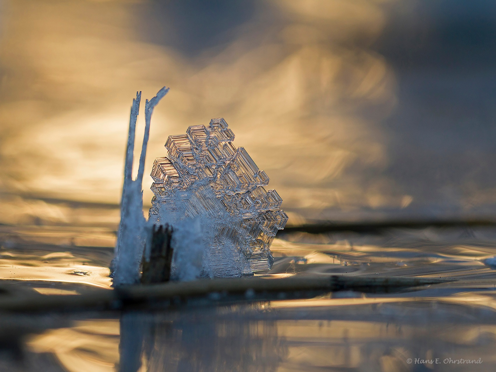 """Ice """"snail"""" by Hans-Einar Ohrstrand"""