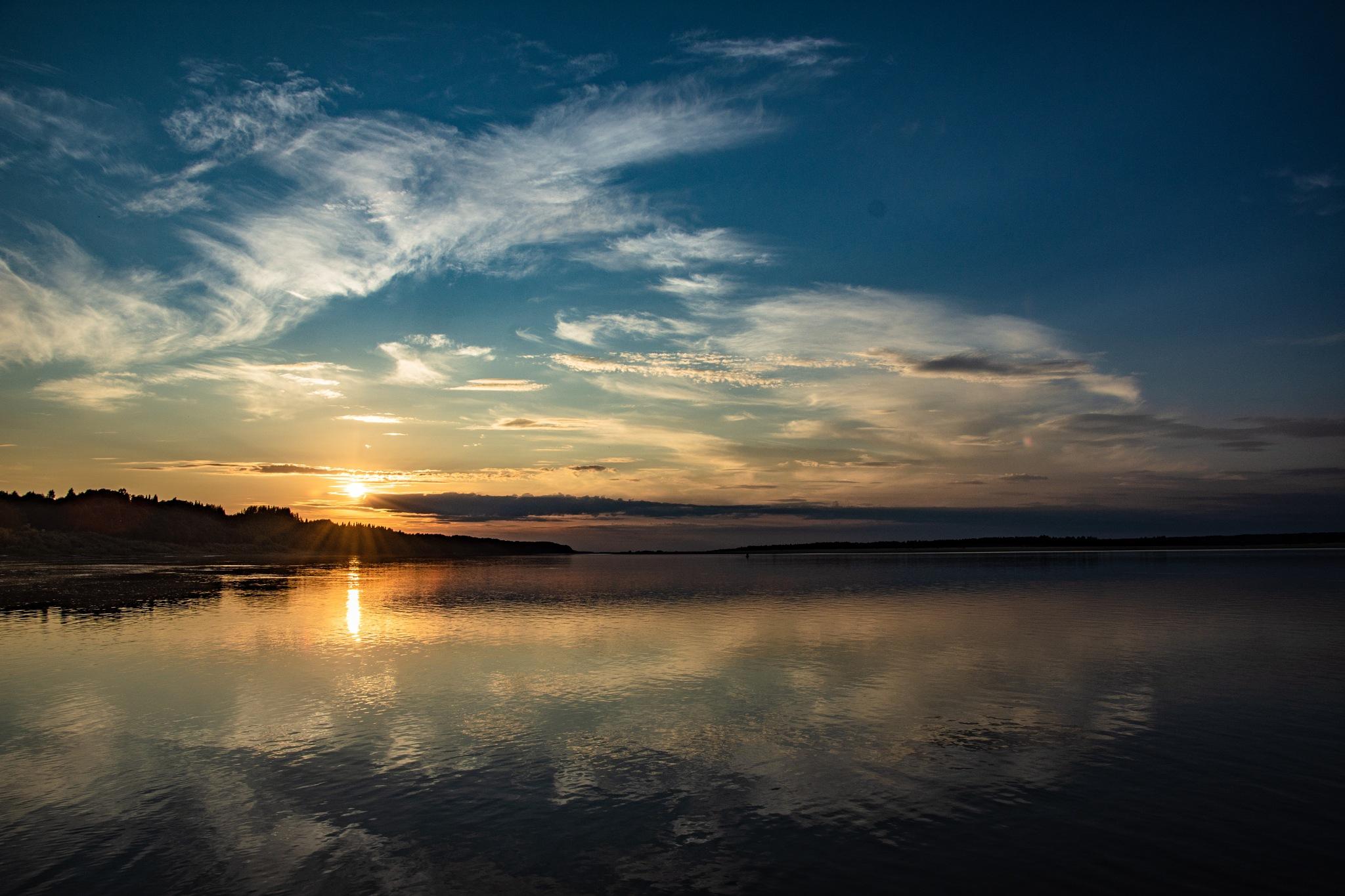 Evening, sunset .... by Maksim
