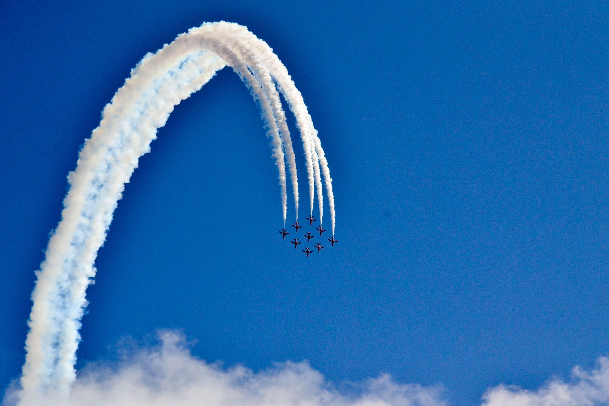 Red Arrows by Andrea Leprini