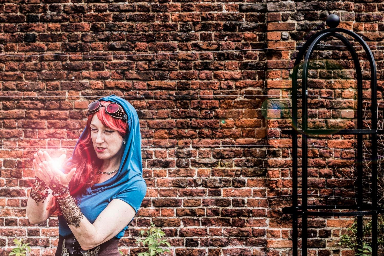 Photo in Random #steampunk #photoshop #light #beautiful #pretty #hot #sexy #blue
