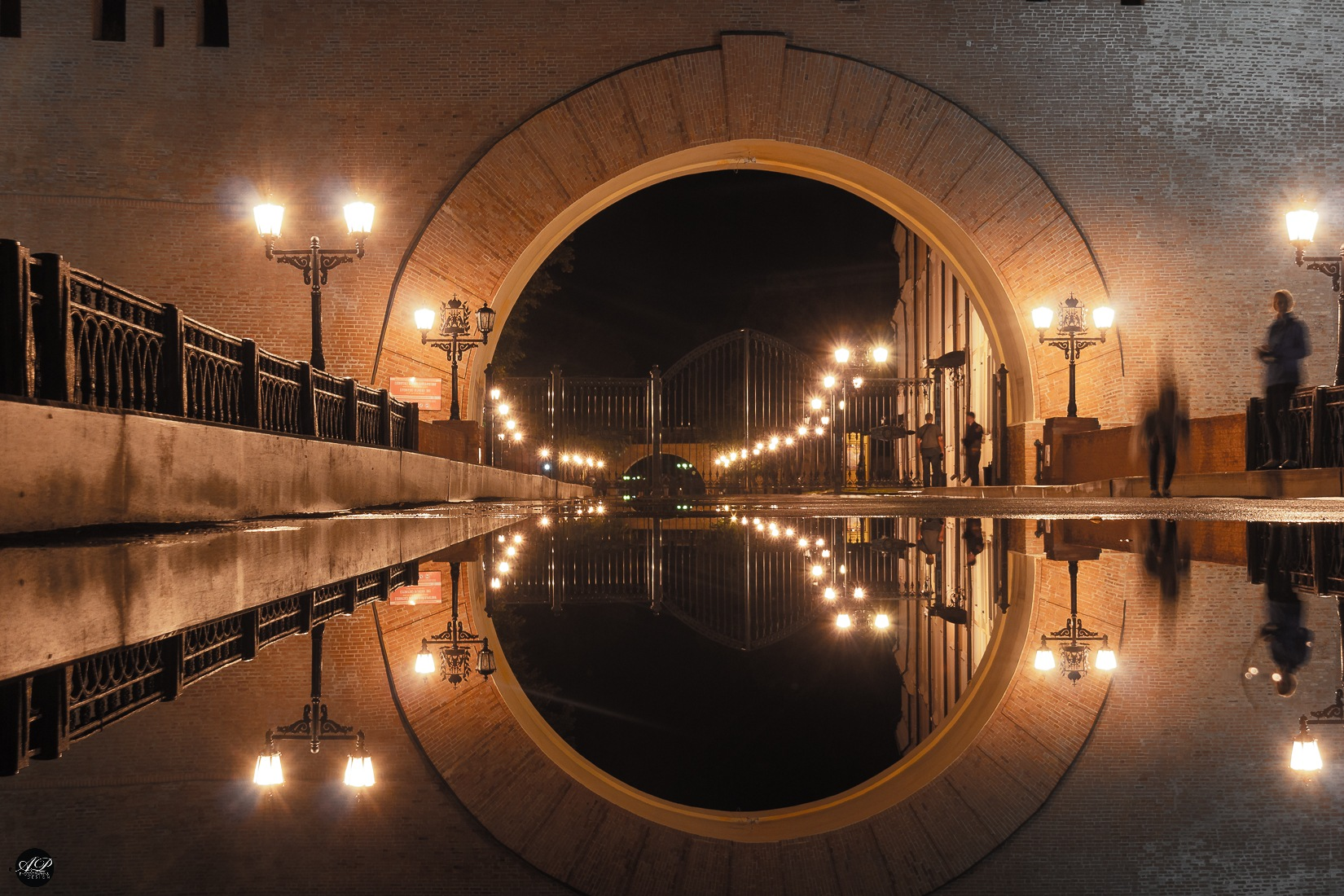 Photo in Street Photography #reflection #night concept