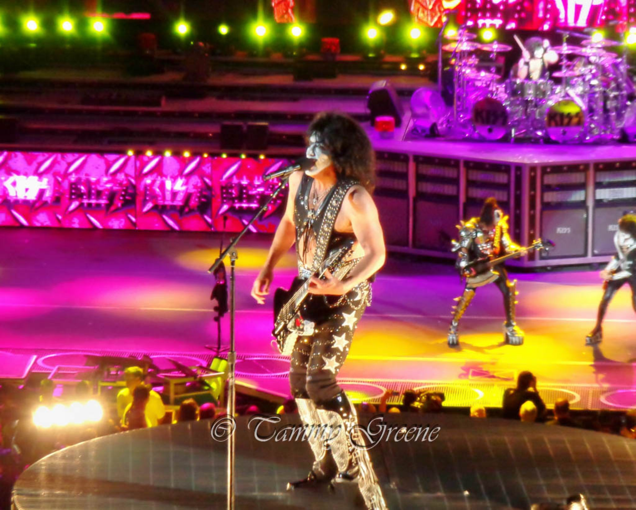 Kiss - Paul Stanley by soundlensphotography