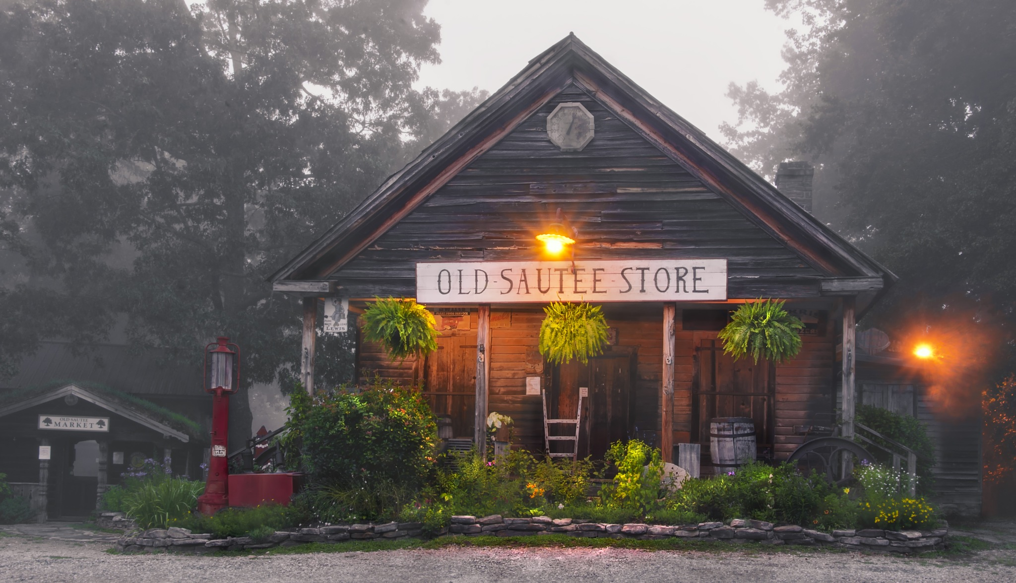 Old Sautee Store in Early Morning Light by Bill Hughes