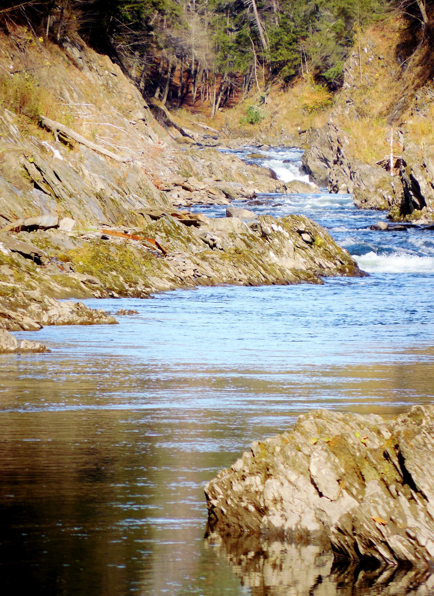 River in the Gorge by MarcianGraffix