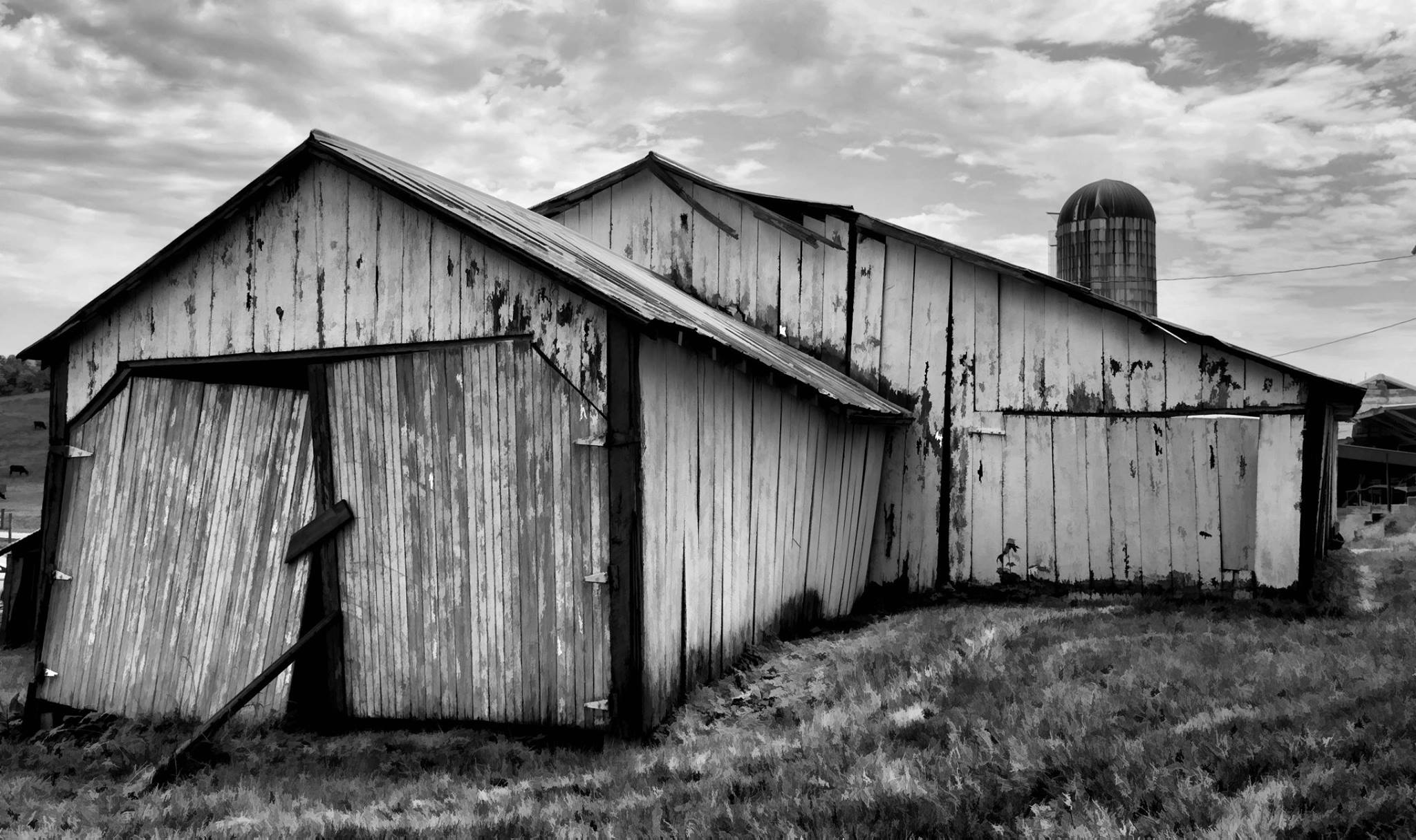 Old barn by Valerie Dyer