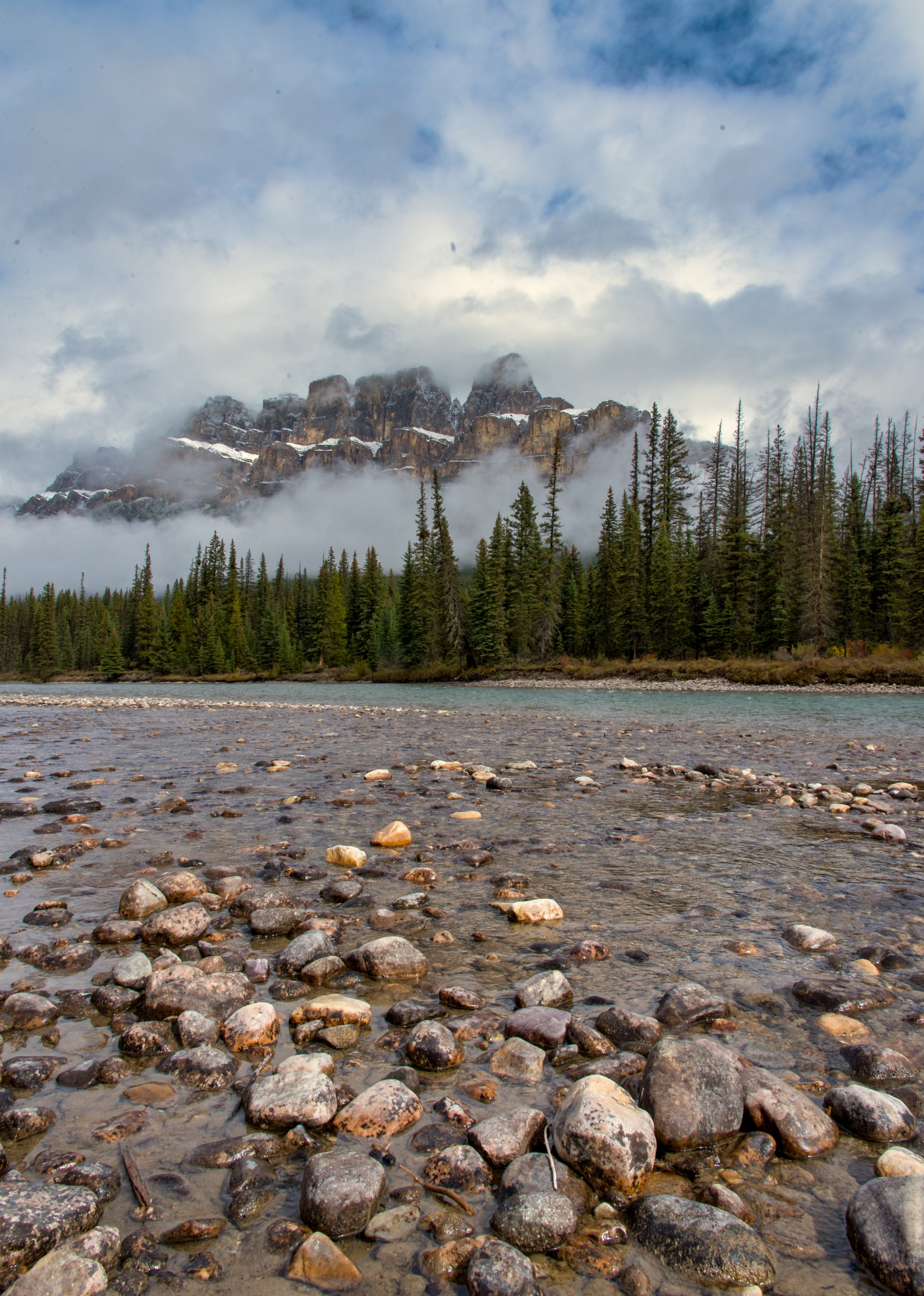 Bow River by Valerie Dyer