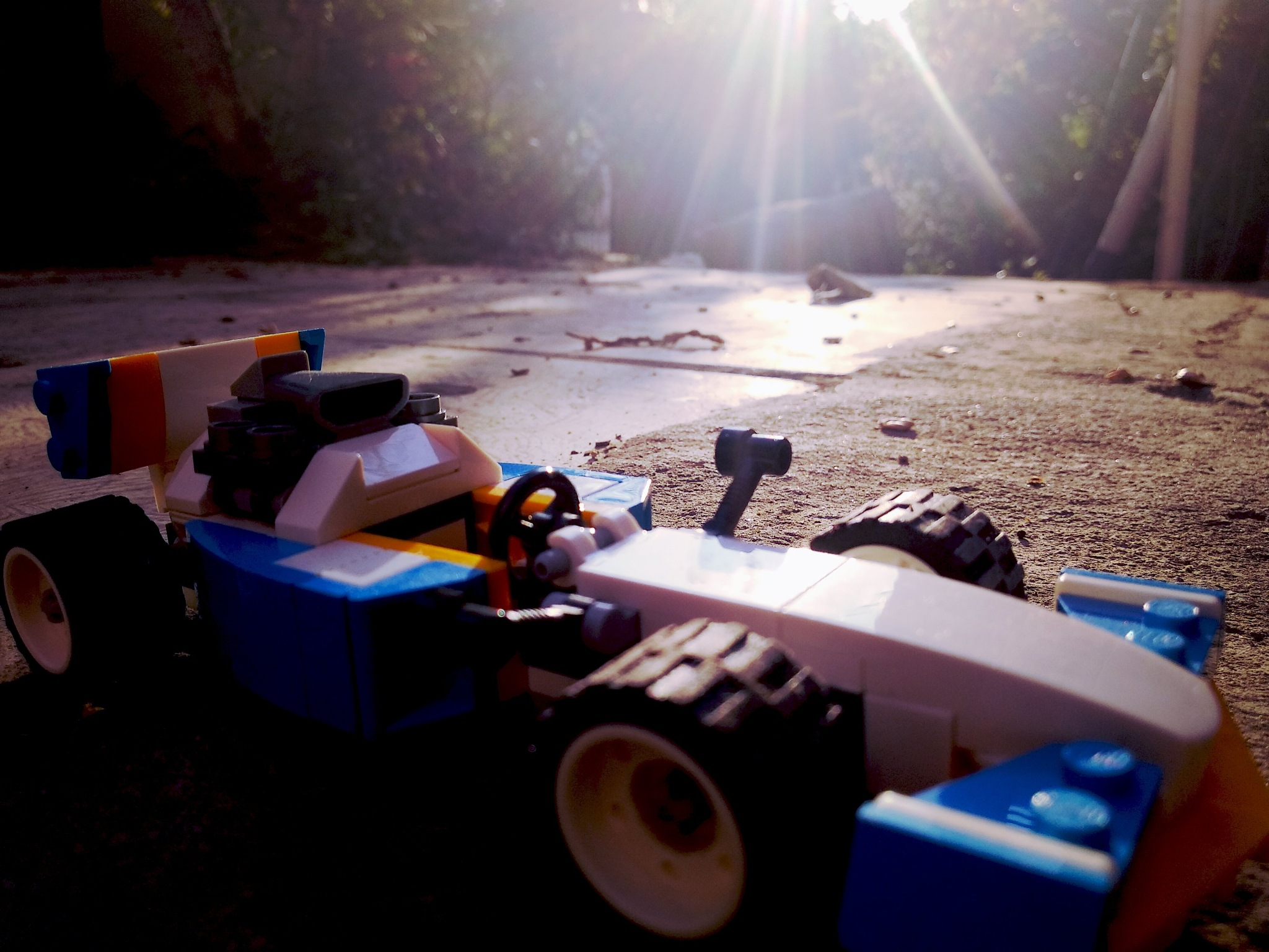 Photo in Sports #f1 #car #sports #love #lights #limelight #sun #race #toy #miniature #scalemodel #dream #style #cool