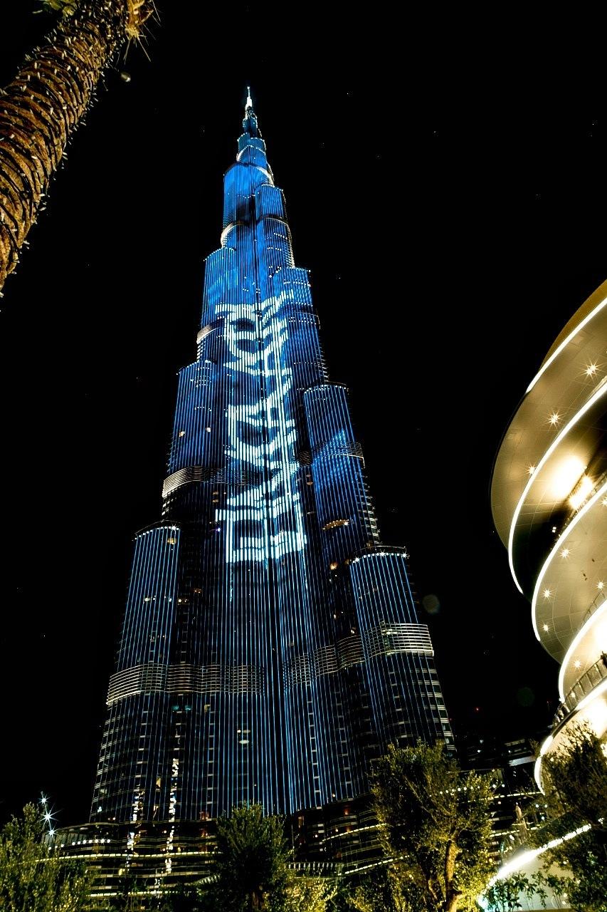 Burj khalifa, Dubai by Athan David