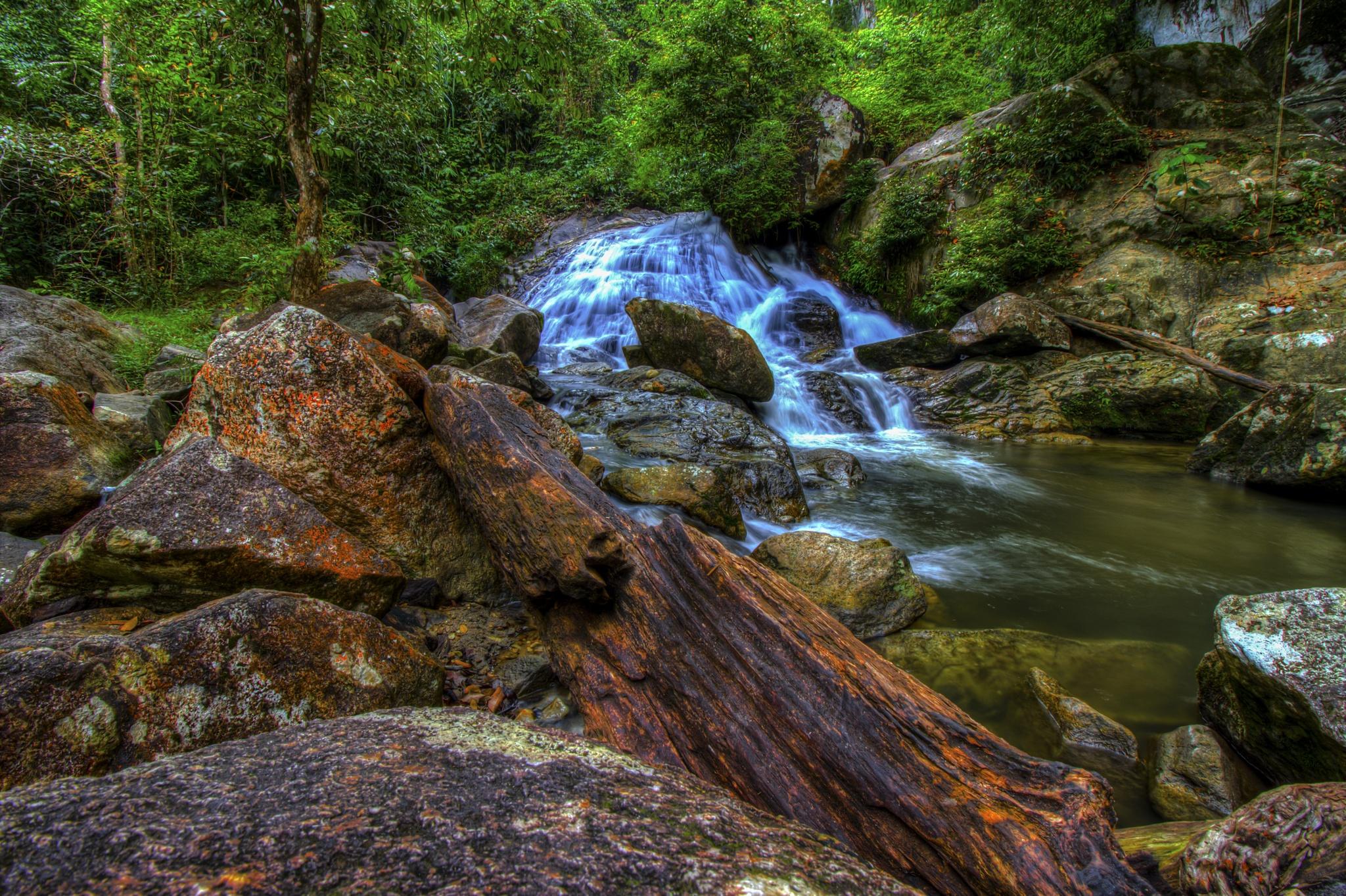 flowing water by Germzki Hitch Cardenas