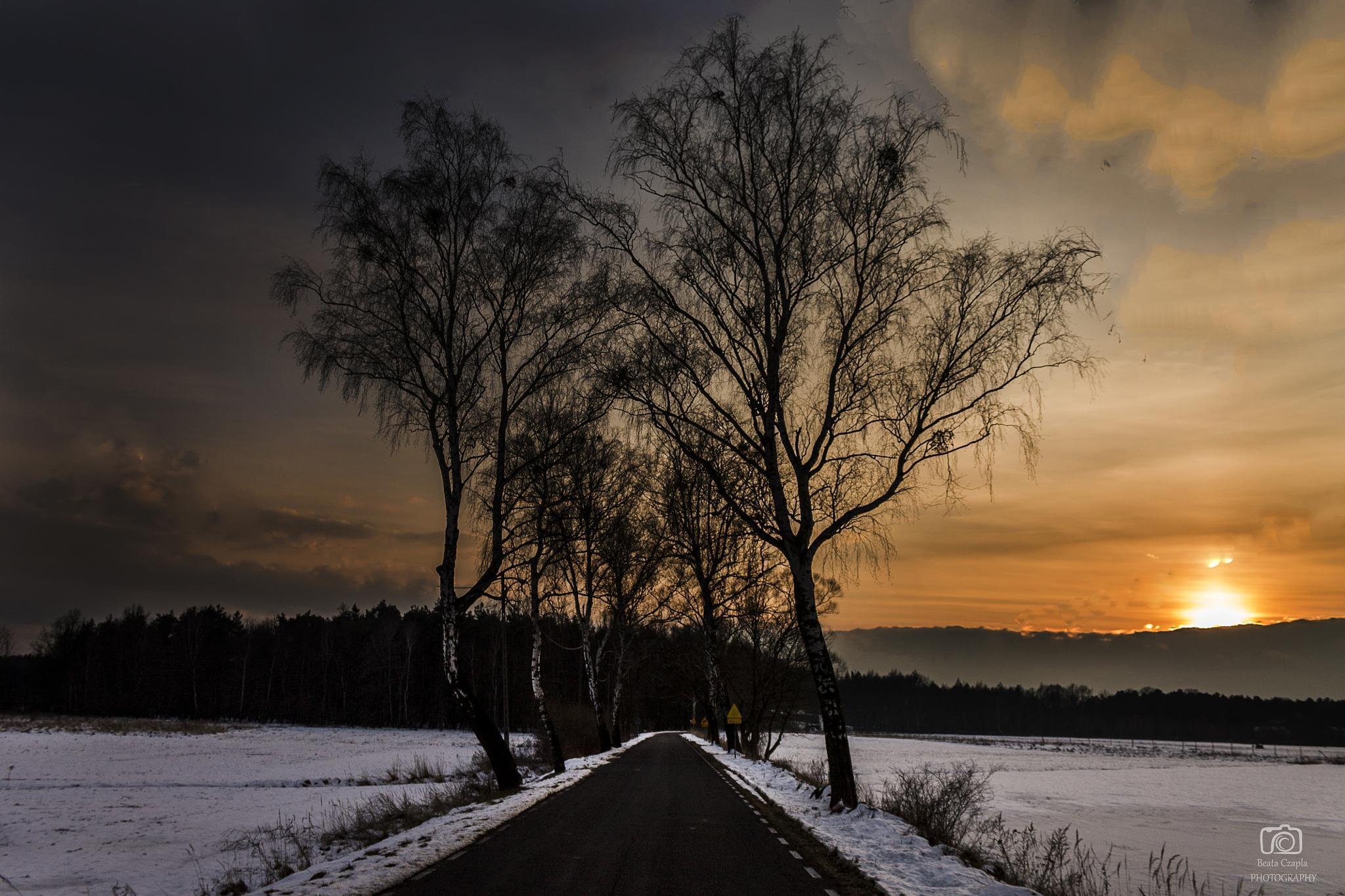 Beautiful sunset by Beata Czapla