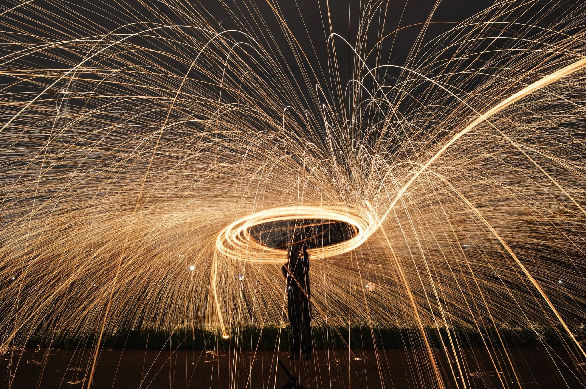Steel Wool Photography by Storm Hayward