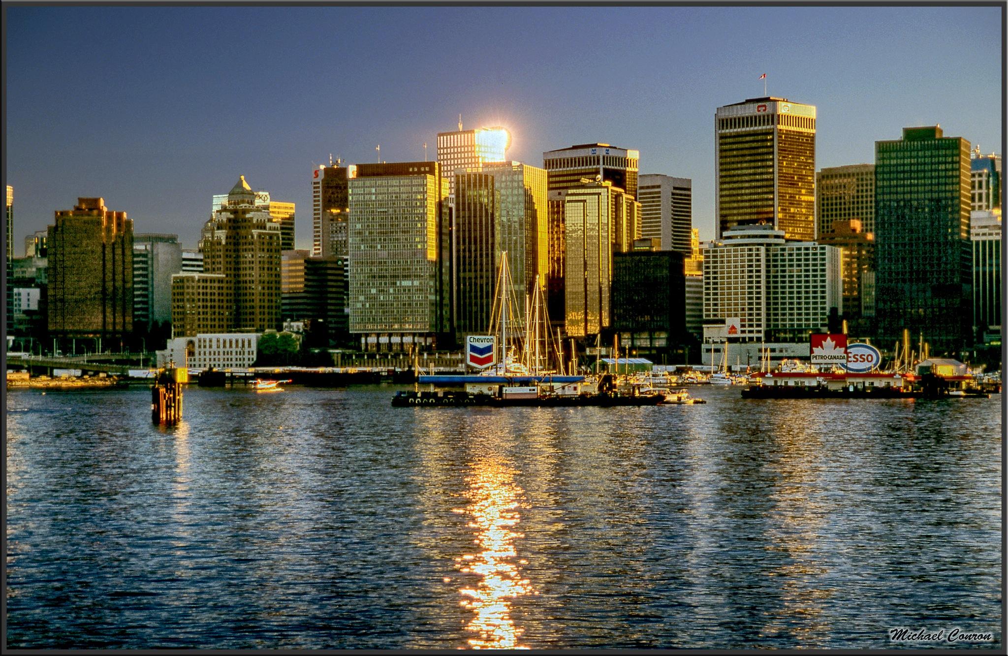 Vancouver, British Columbia by Michael Conron