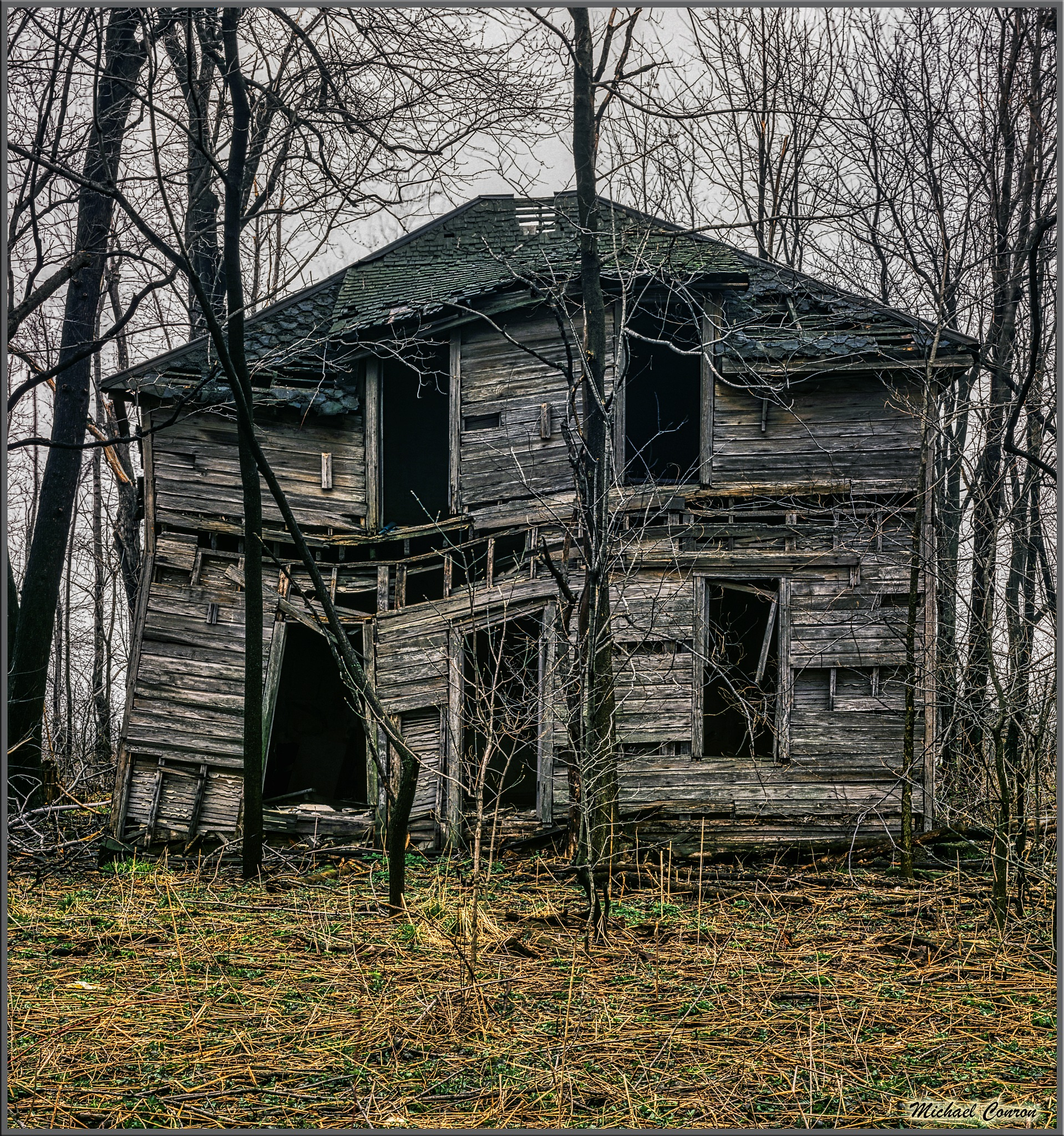 Photo in Landscape #midwest #abandoned #house