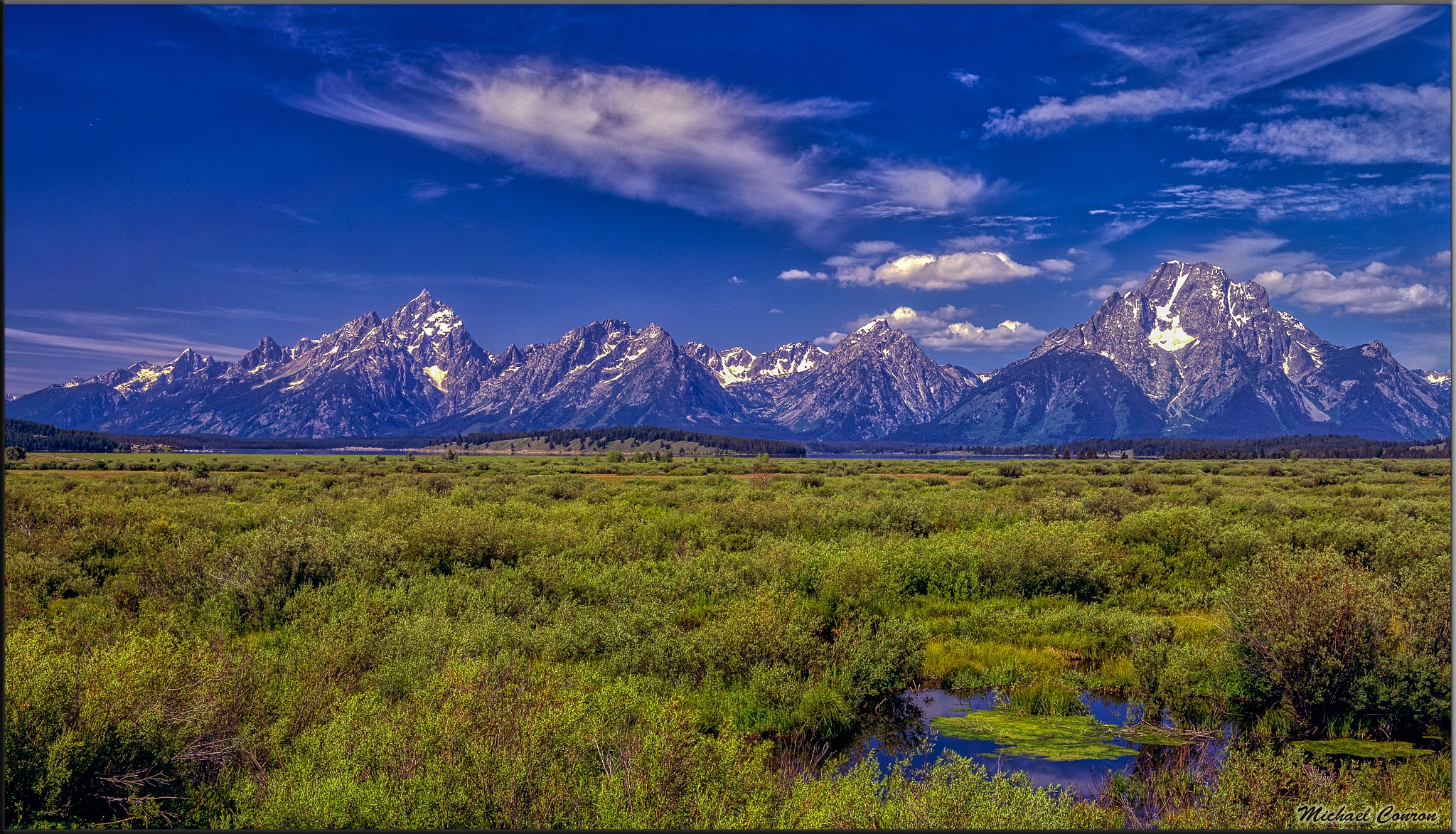 Grand Tetons - Wyoming by Michael Conron