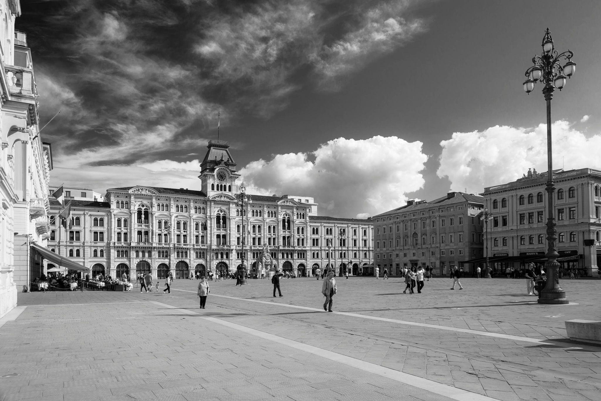 Photo in Landscape #square #blackandwhite #spring #summer #autumn #clouds #sky #italy #trieste