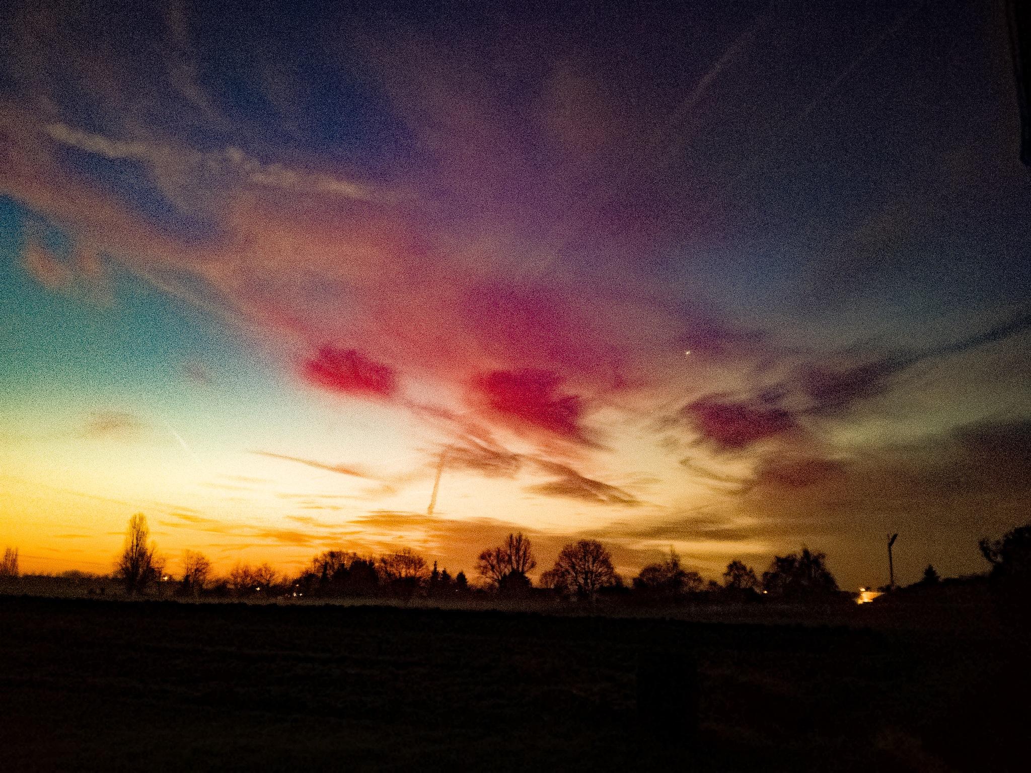 Photo in Landscape #belgium sunrise sky clouds