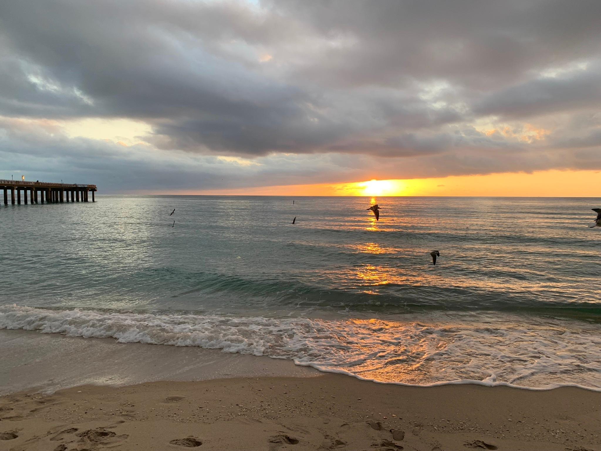 A Saturday Sunrise by Fifo