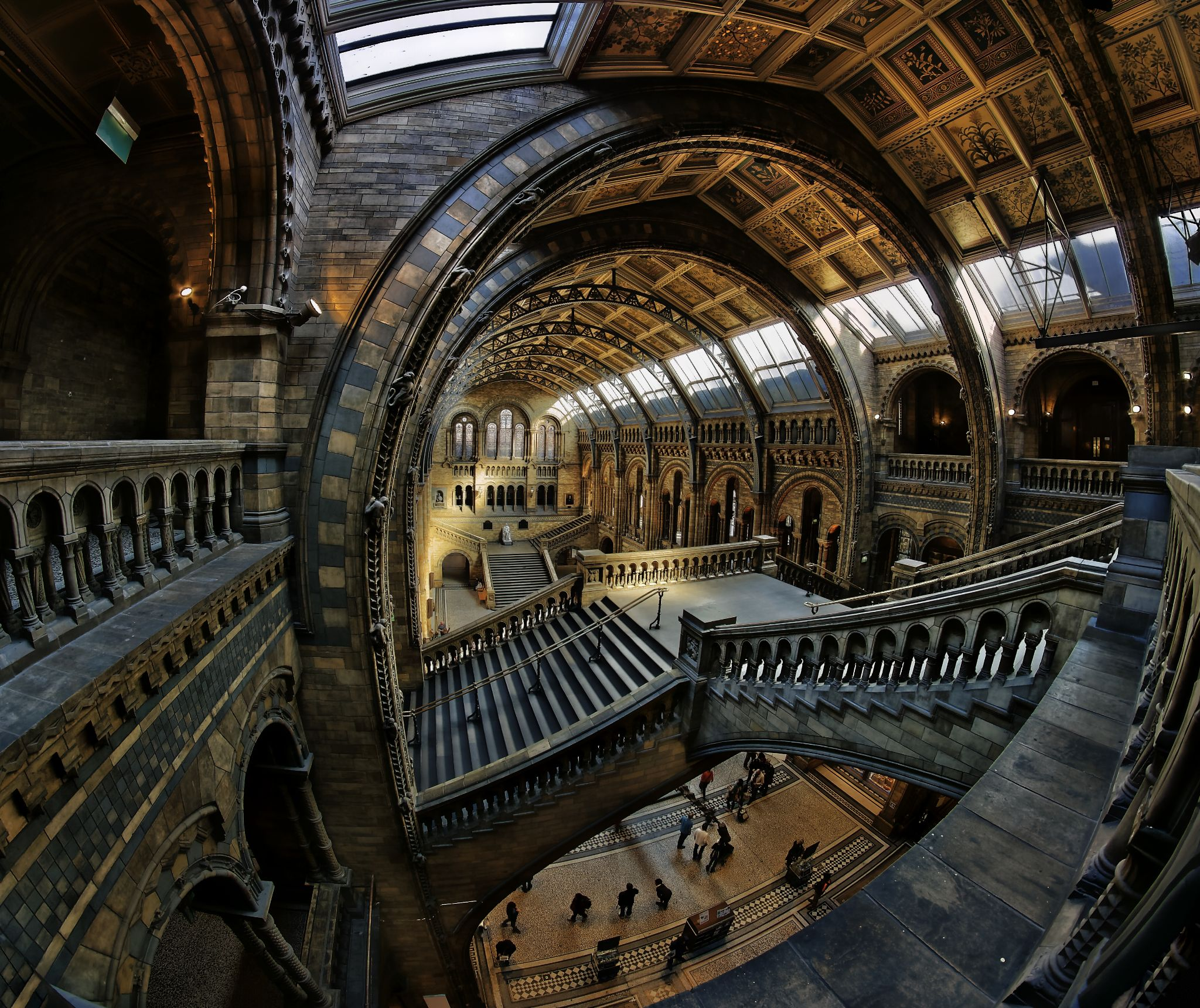 Natural History Museum London by Richard Beresford Harris