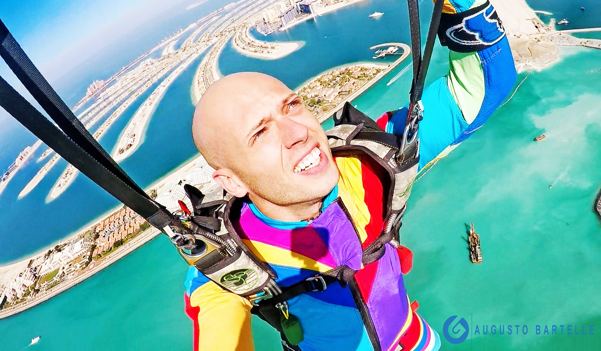 Photo in Sports #skydive #skydiving #dubai #skydivedubai #photographer #self #nature #palm #naked #adventure #extreme