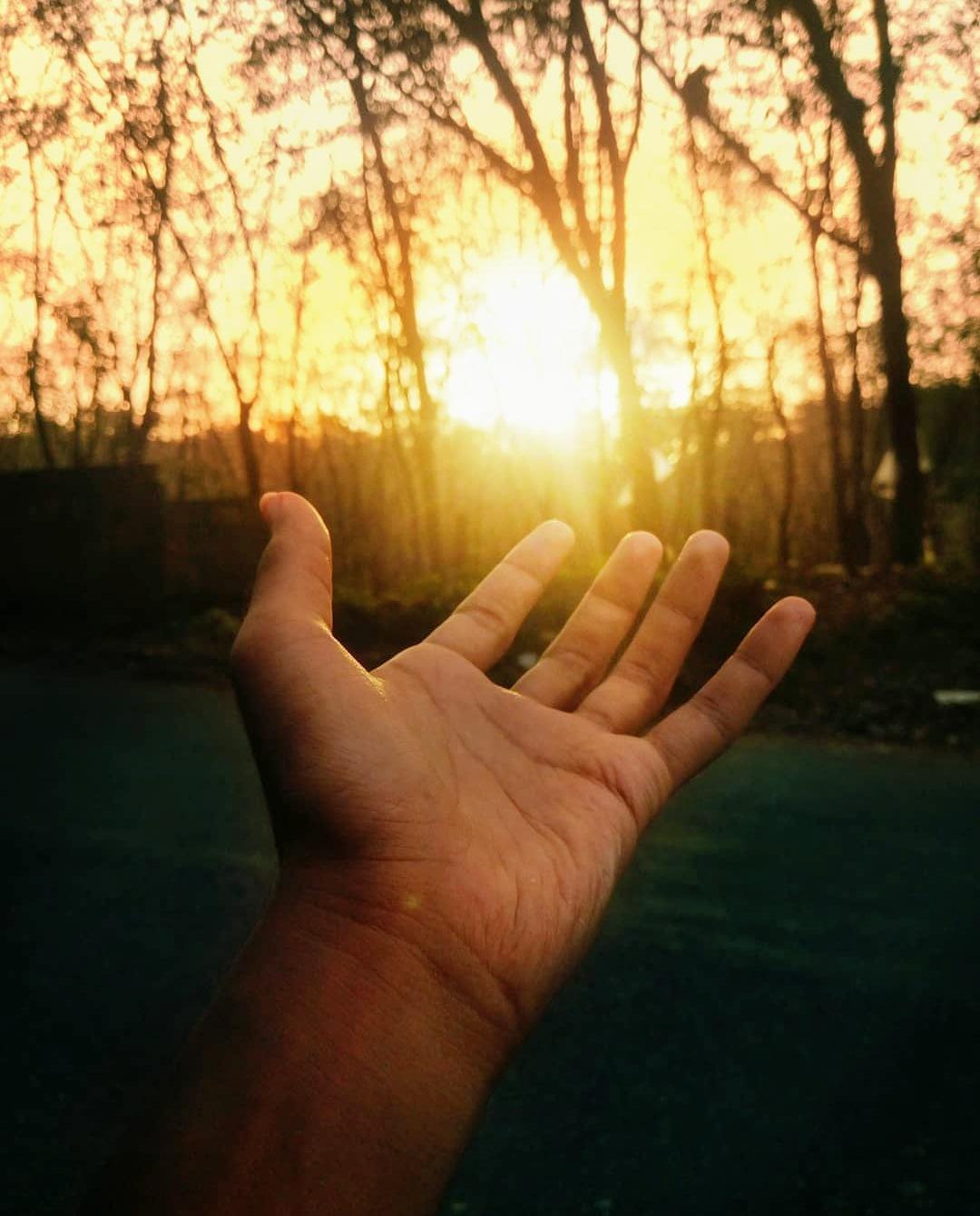 sun burn by Alokh P Mathews