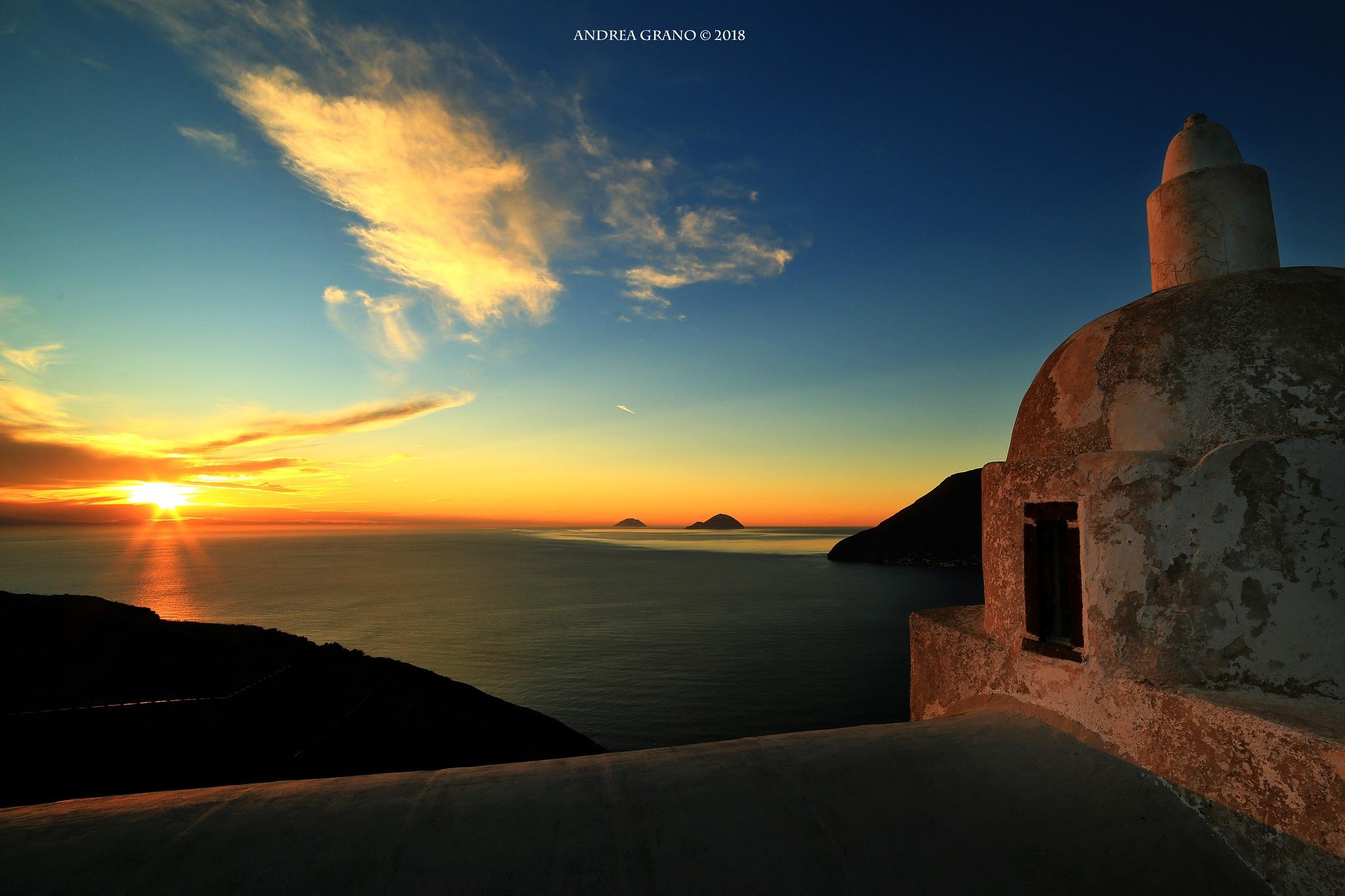 Aeolian Sunset by Andrea Grano