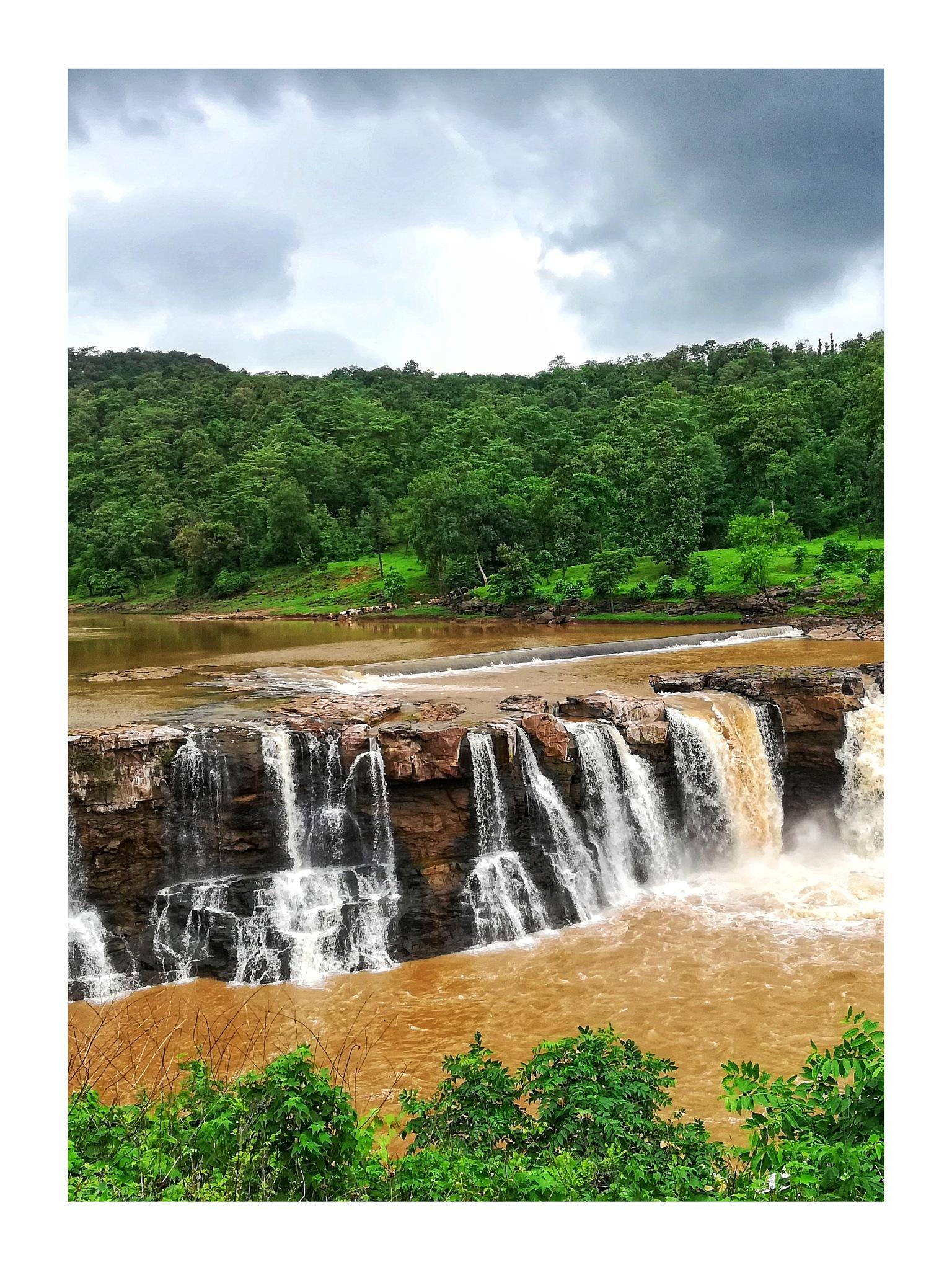 Photo in Nature #waterfall #nature #landscape #beauty #art