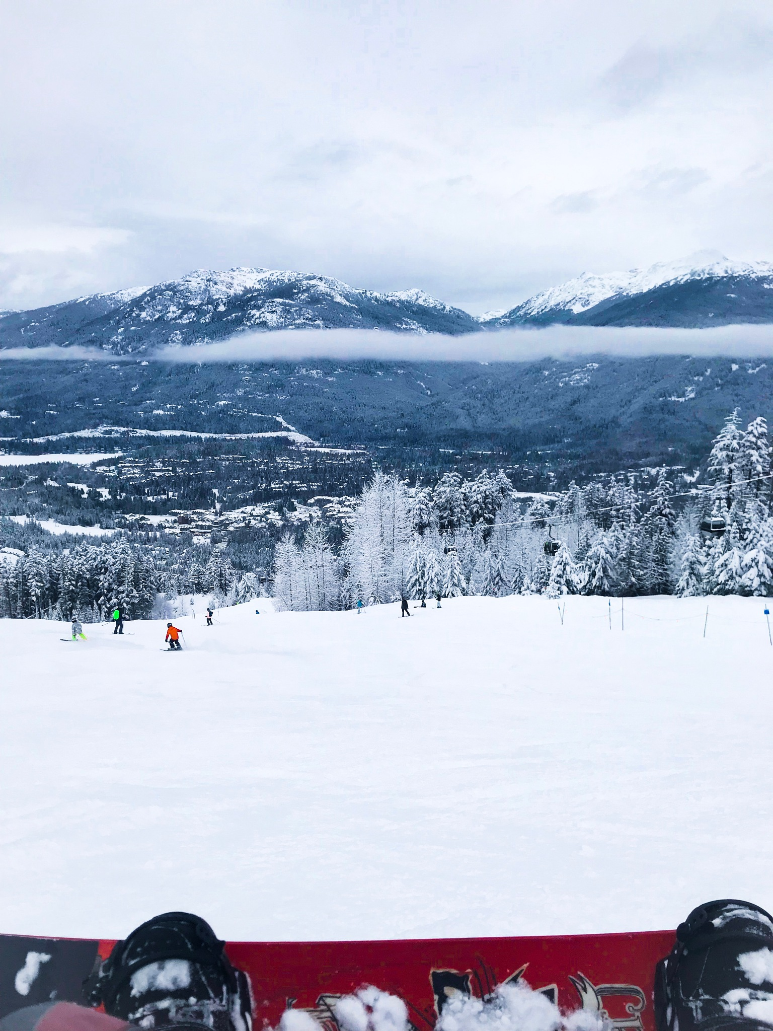 Photo in Travel #top #snowboarding #snowboard #snow #ski #mountain #sport #sports #trees #nature #cold #cool #travel #holidays #canada #vancouver #whistler