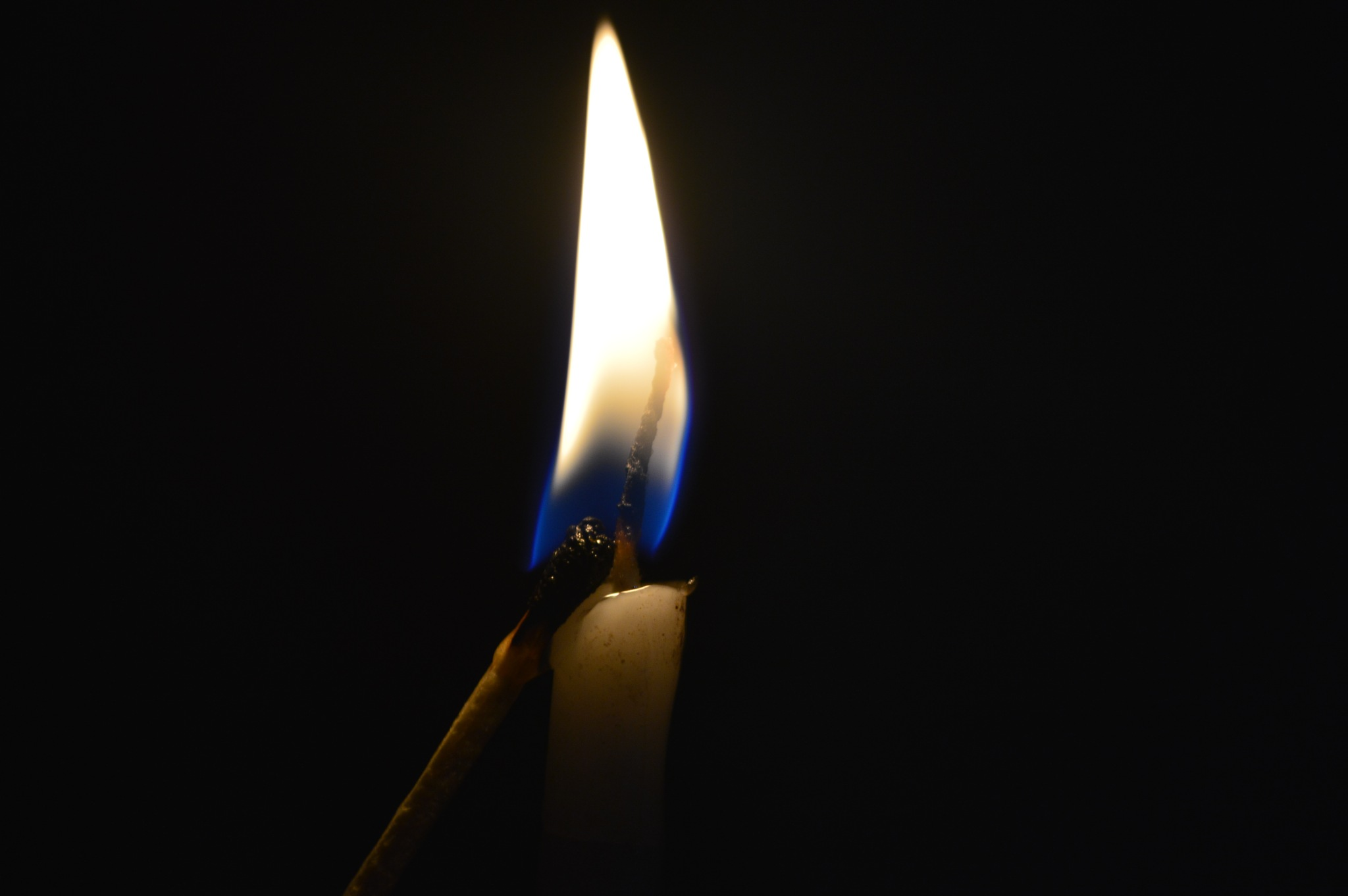 The Support of a candle to a Matchstick by Rachit Shrivastava