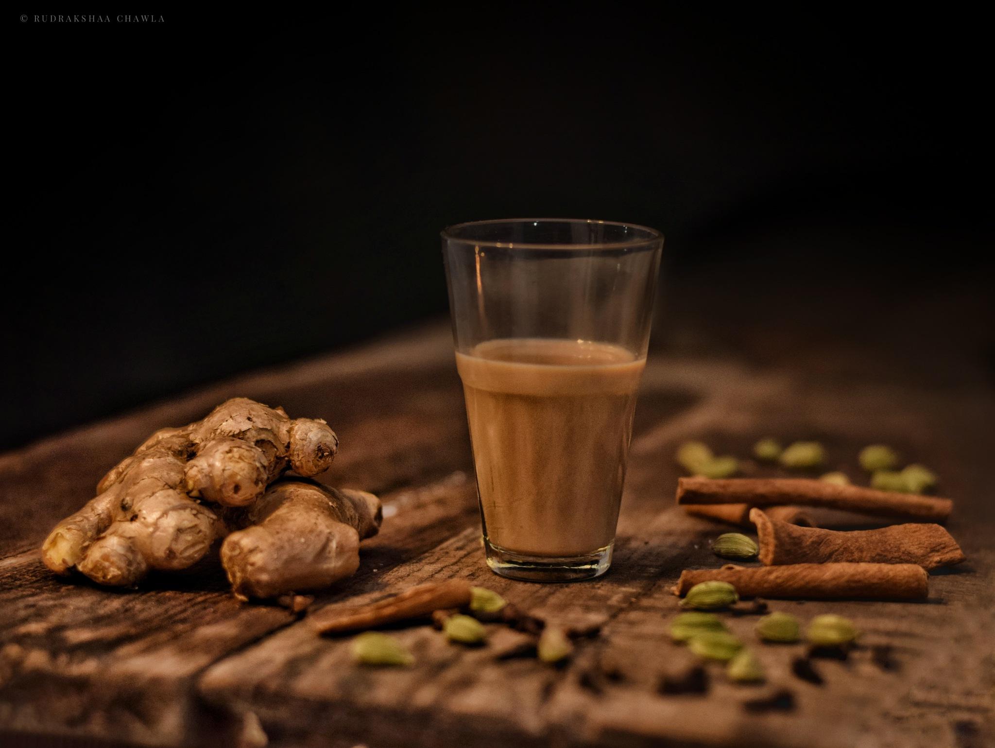 Photo in Product #chai #tea #ingredients #tealeaves #milk #water #ginger