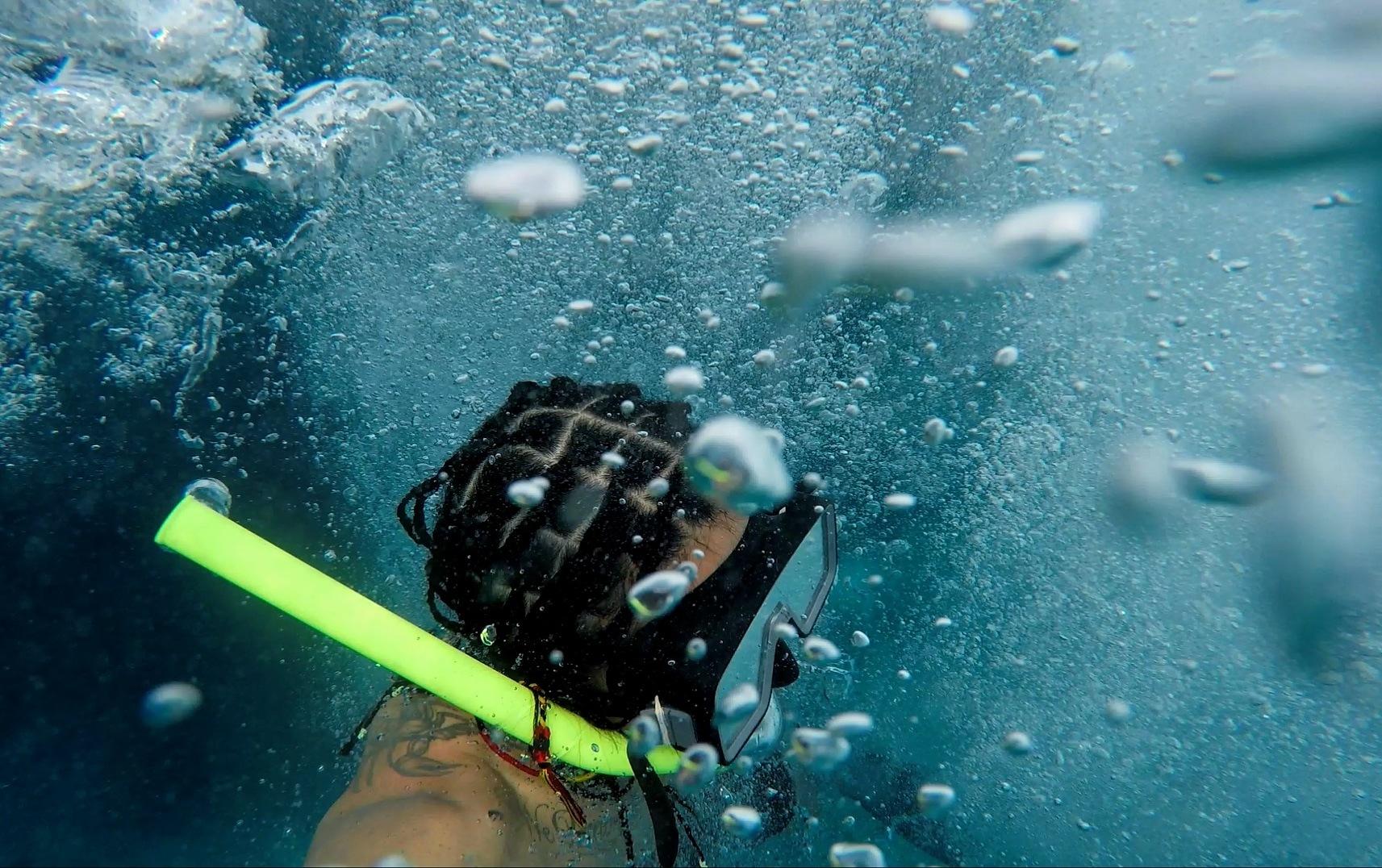 Photo in Underwater #bubbles #dive