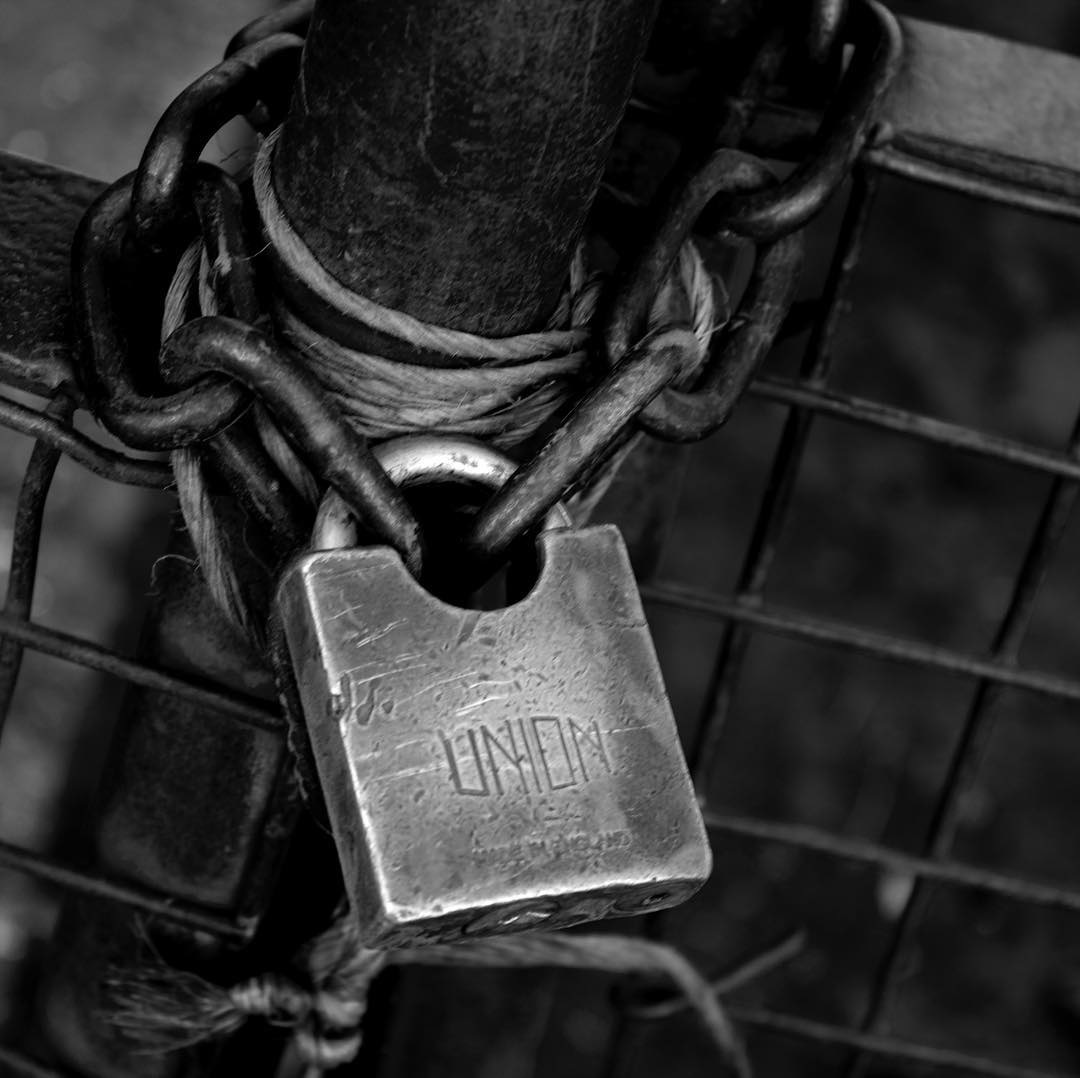 Under lock and key.. by Shutter_Up_Photography