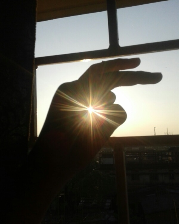 sun rays by Bobid Hazarika