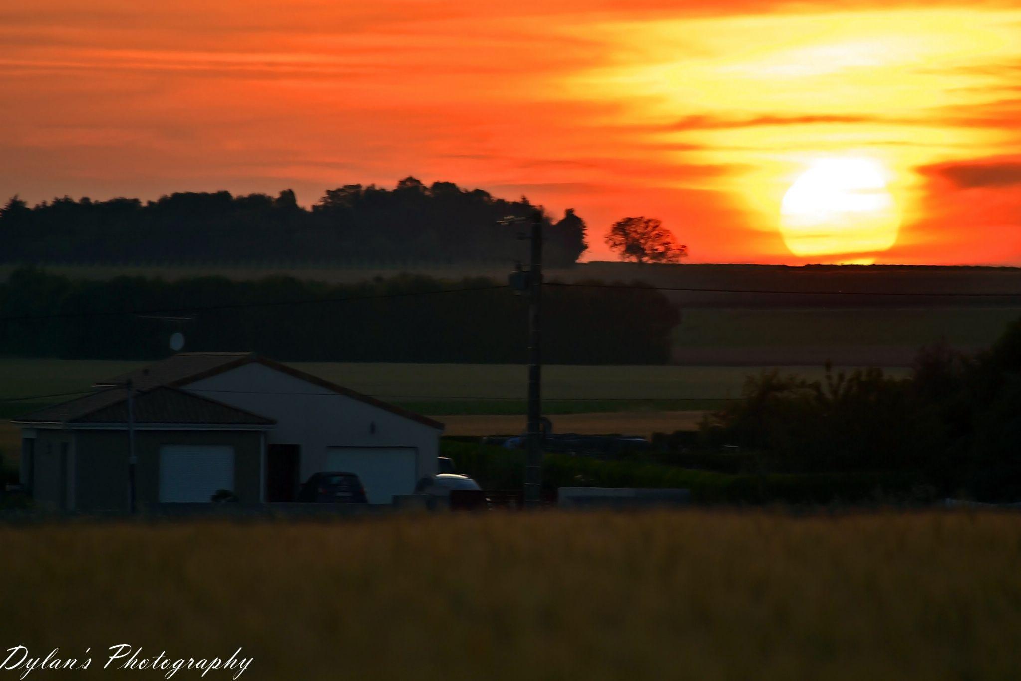Sunset agaiiiin! :D by Dylan Marcotte