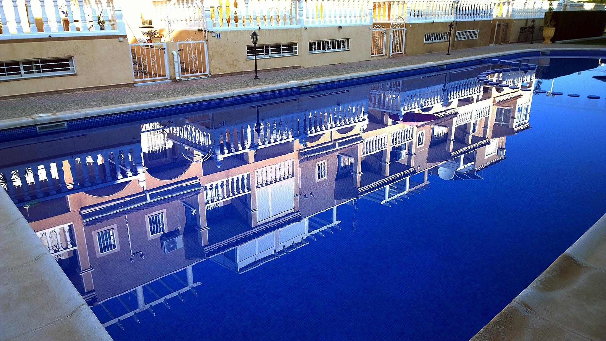 Calm pool by Pilvi Pouta-Manninen
