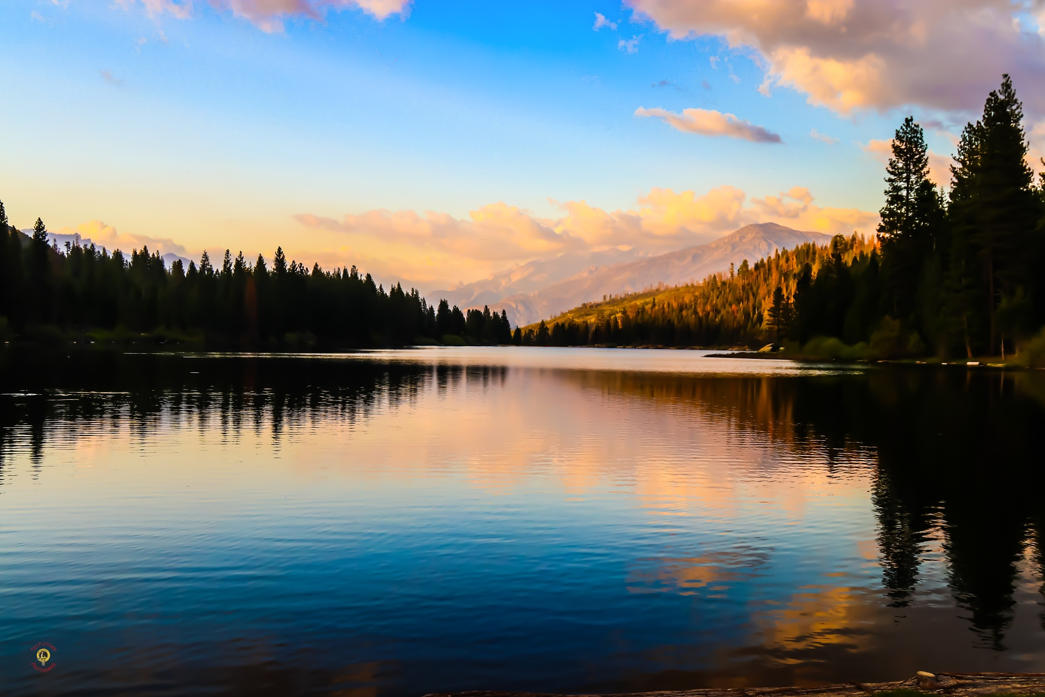 Hume Lake by Ted Fletcher