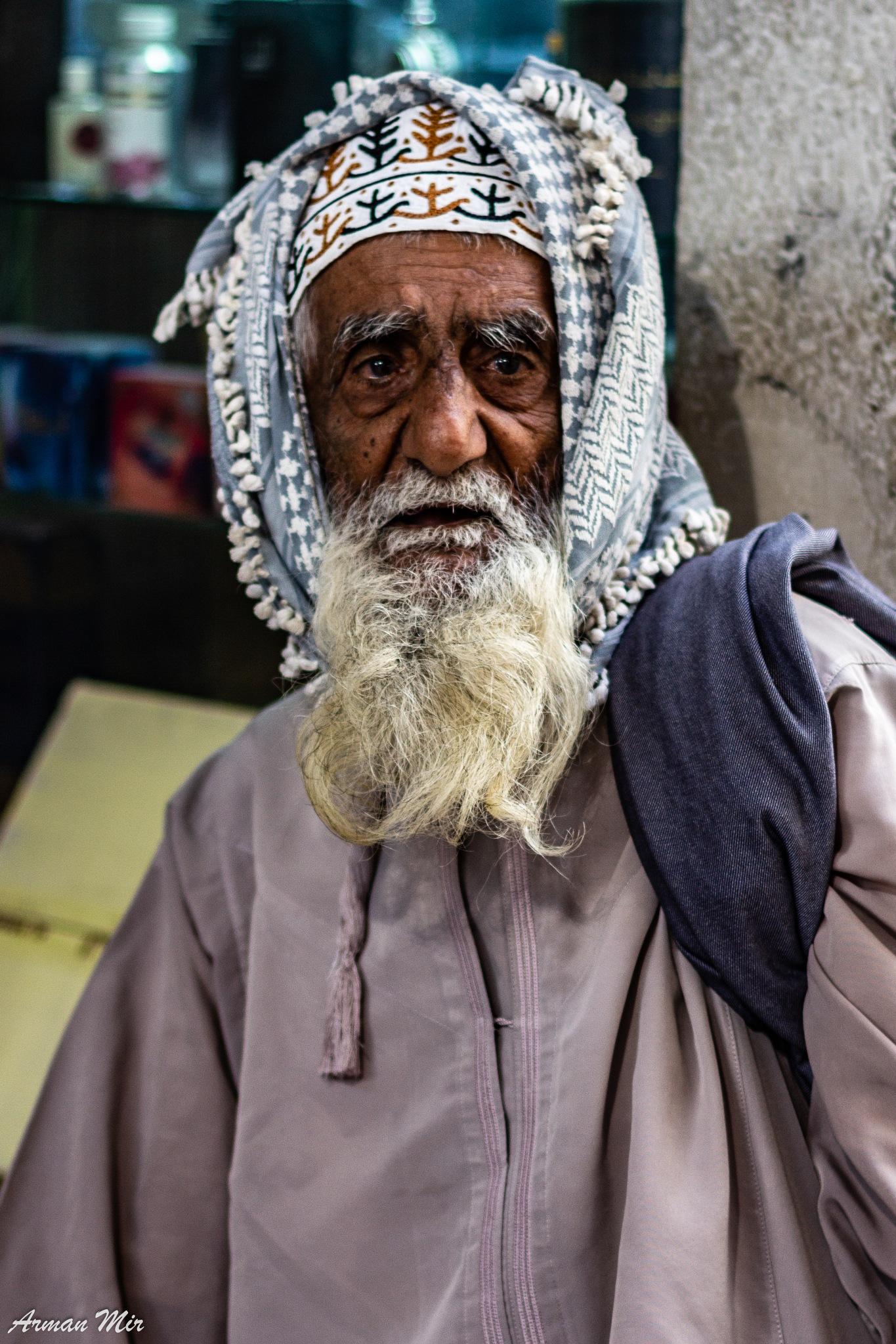 Photo in People #muscat #oman #market #old man #elderly man #man #beard #life #long life #travel #holiday #vacation #souk #muslim #islamic