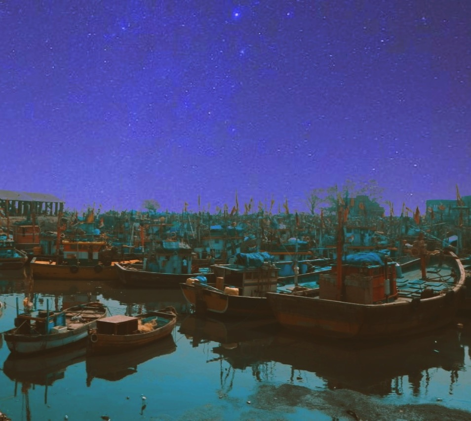 Photo in Nature #sea #boats #starts