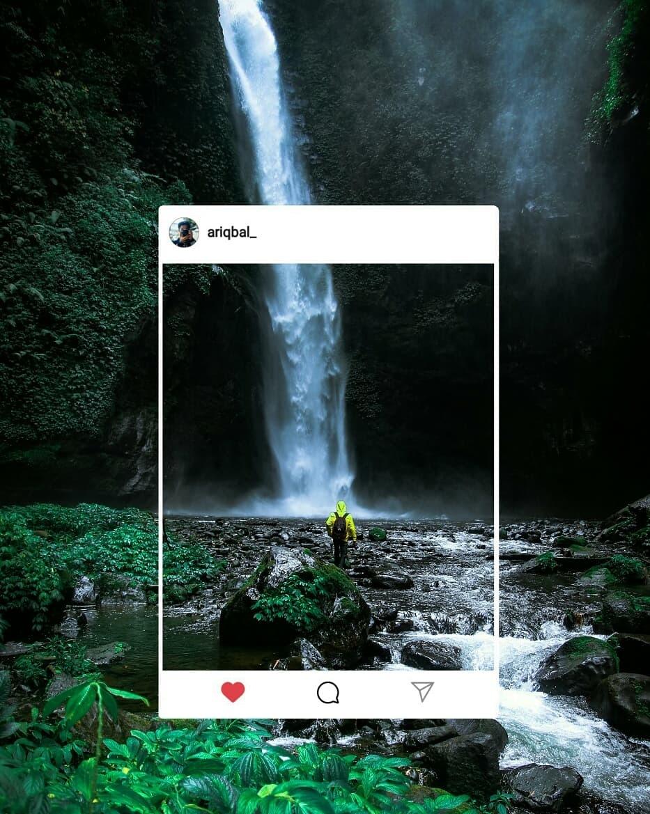 Every teardrop is a waterfall by Iqbal Abdul Rahman