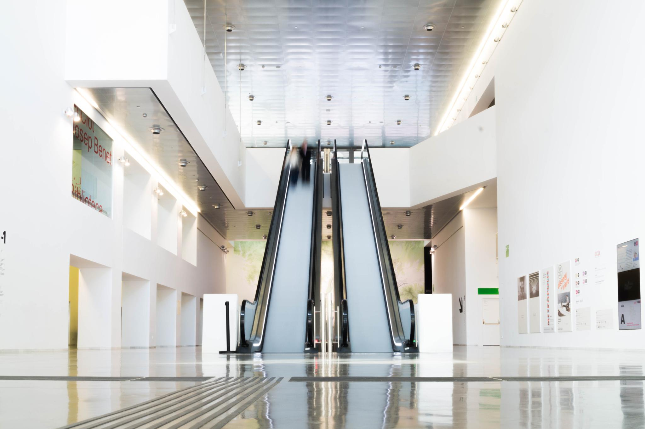 Escalator by RD Photography