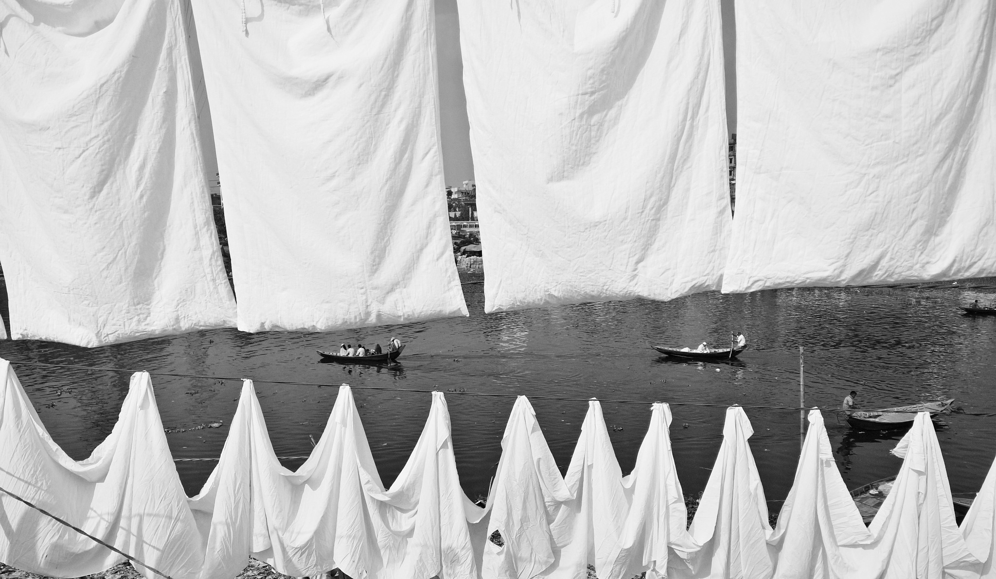 Photo in Black and White #bnw #blackandwhite #streetphotography #art #photography #boat #river