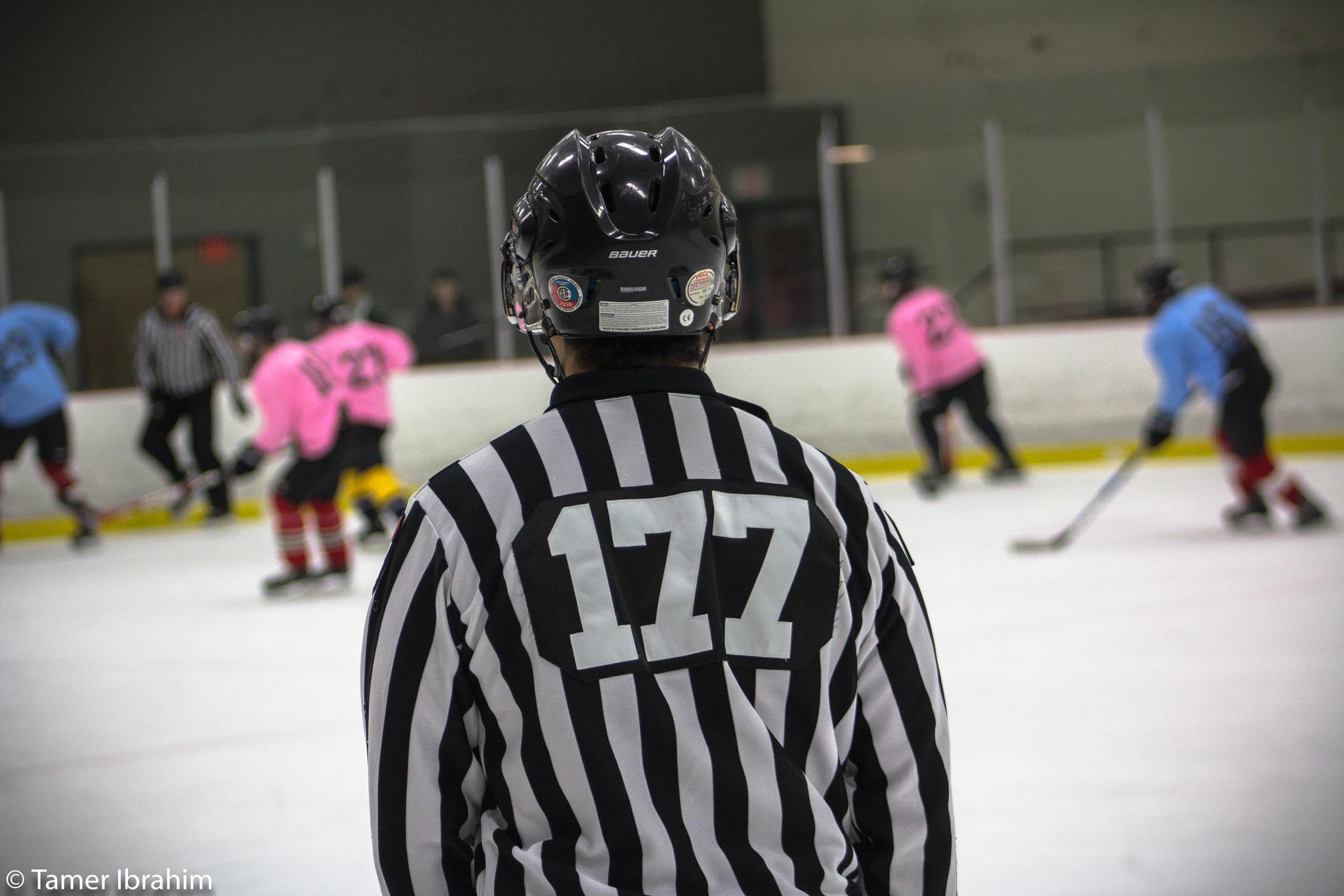 Photo in Sports #hockey #skating #ref #canada #ottawa #carleton