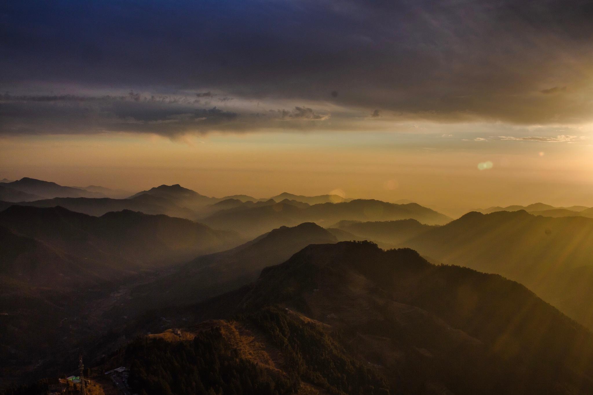 Sunsets by K Vamshi Krishna