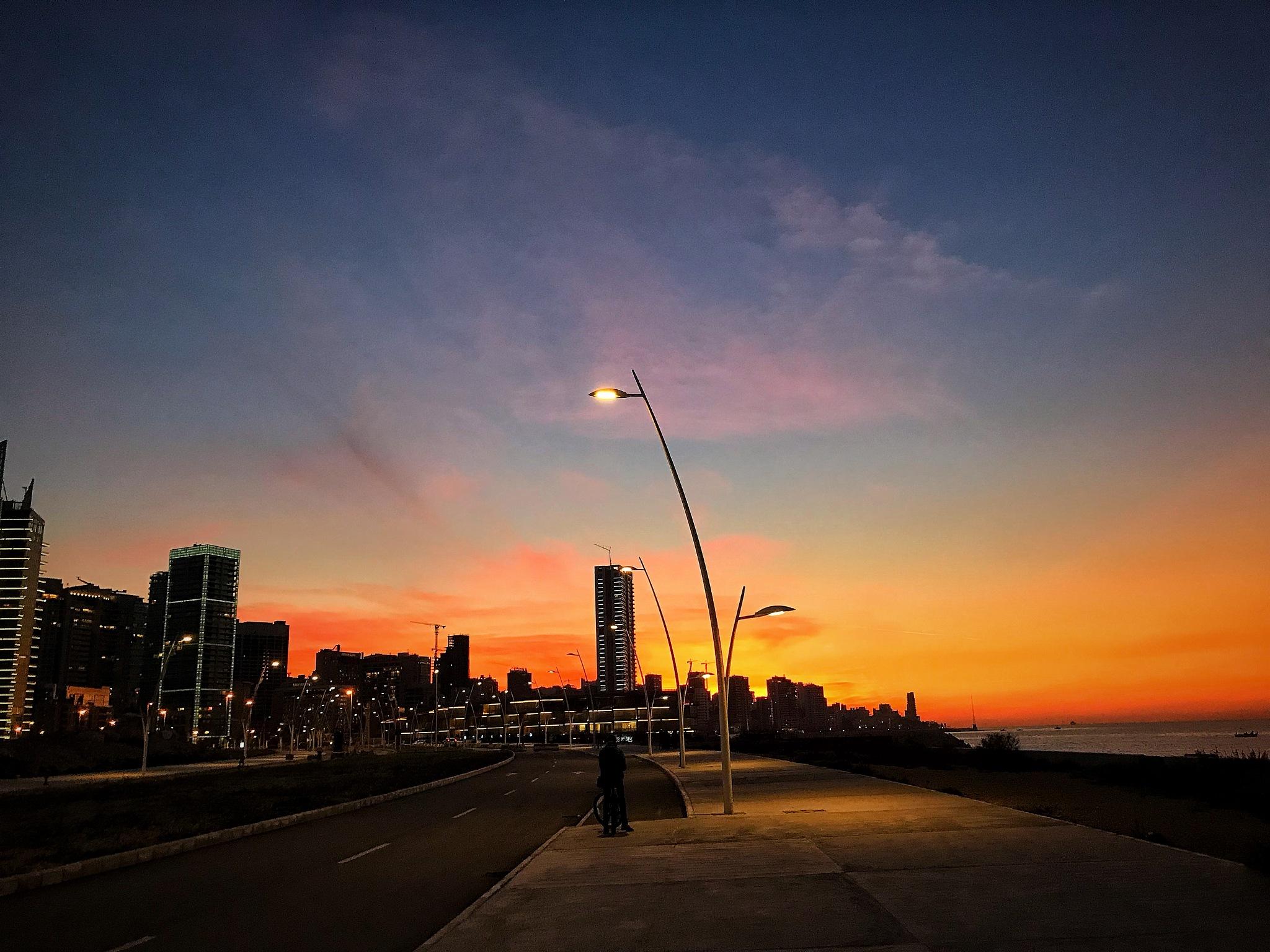 Photo in Random #beirut #sunset
