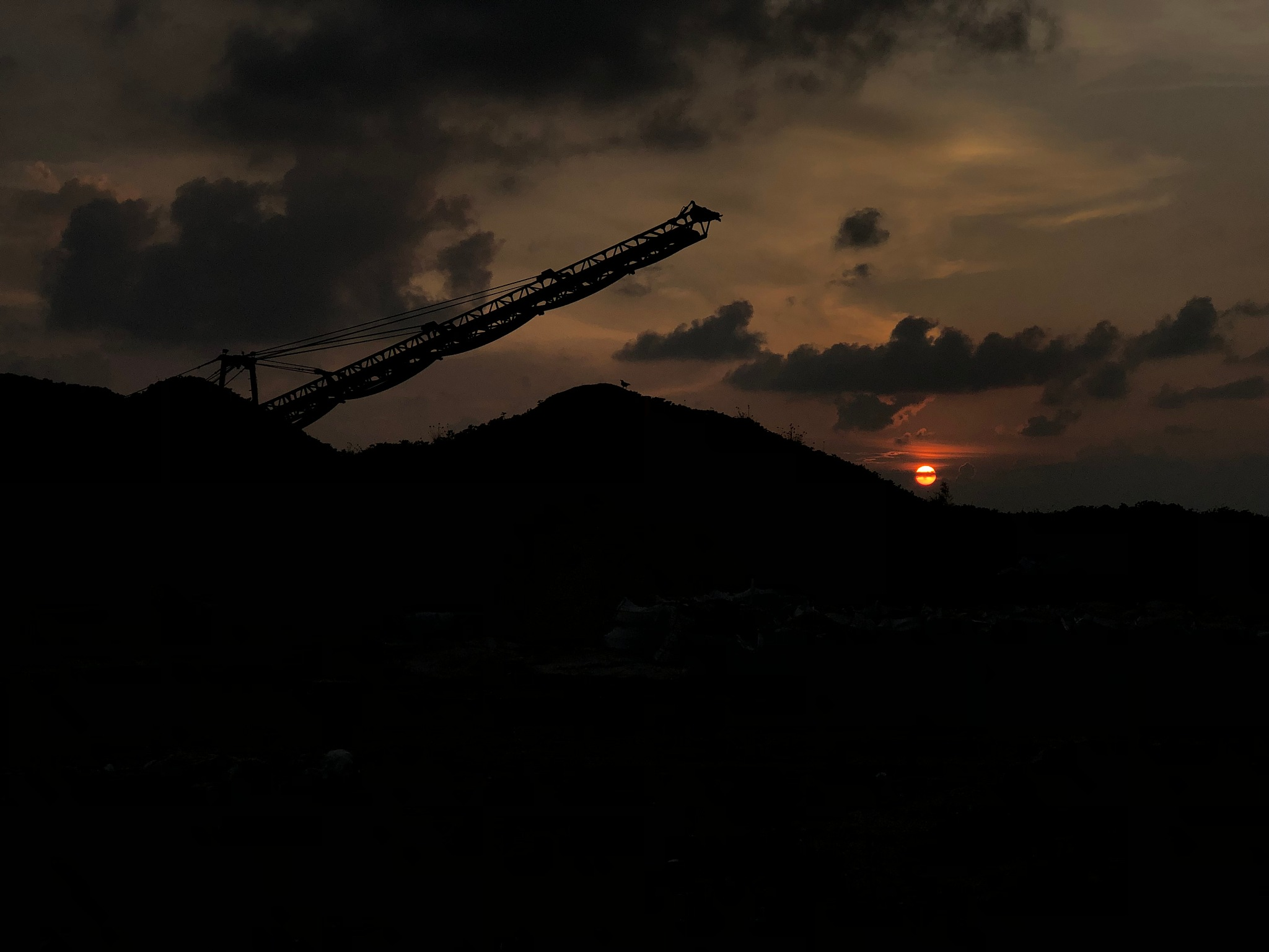 the sun goes down..  by Moosa Shaheed