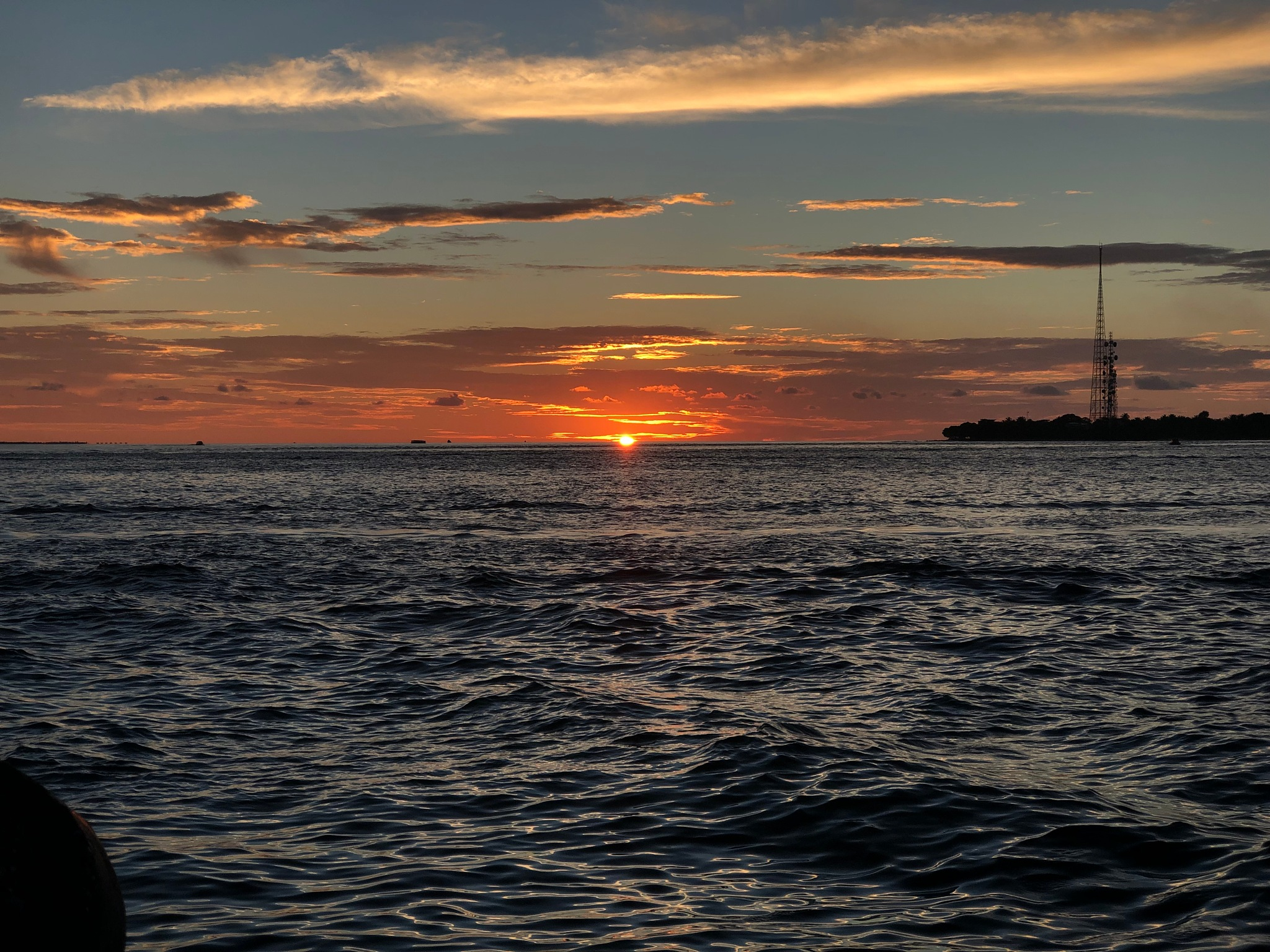 Photo in Nature #sunset #maldives #travel
