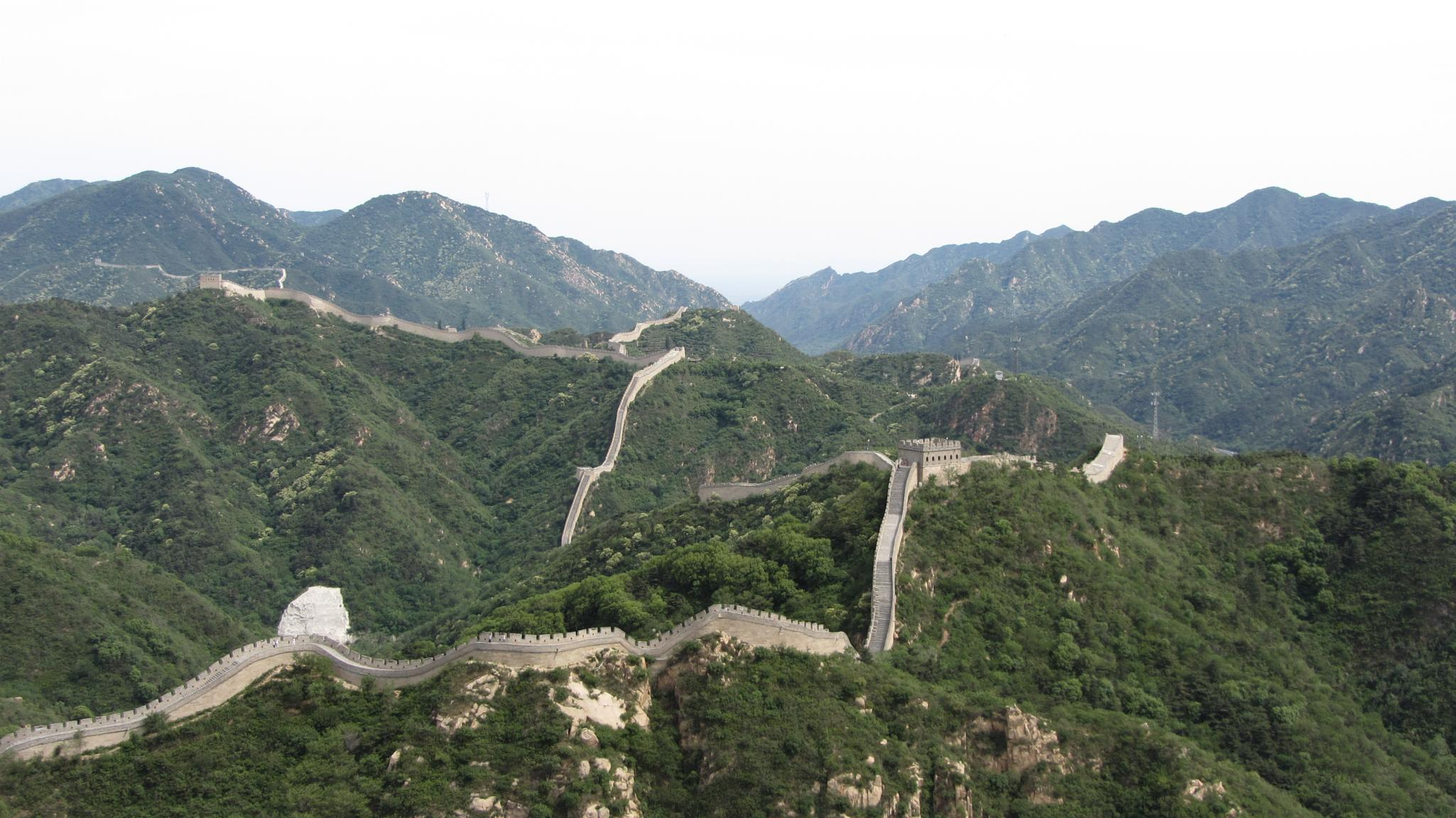 chinese wall by Tanja Henn