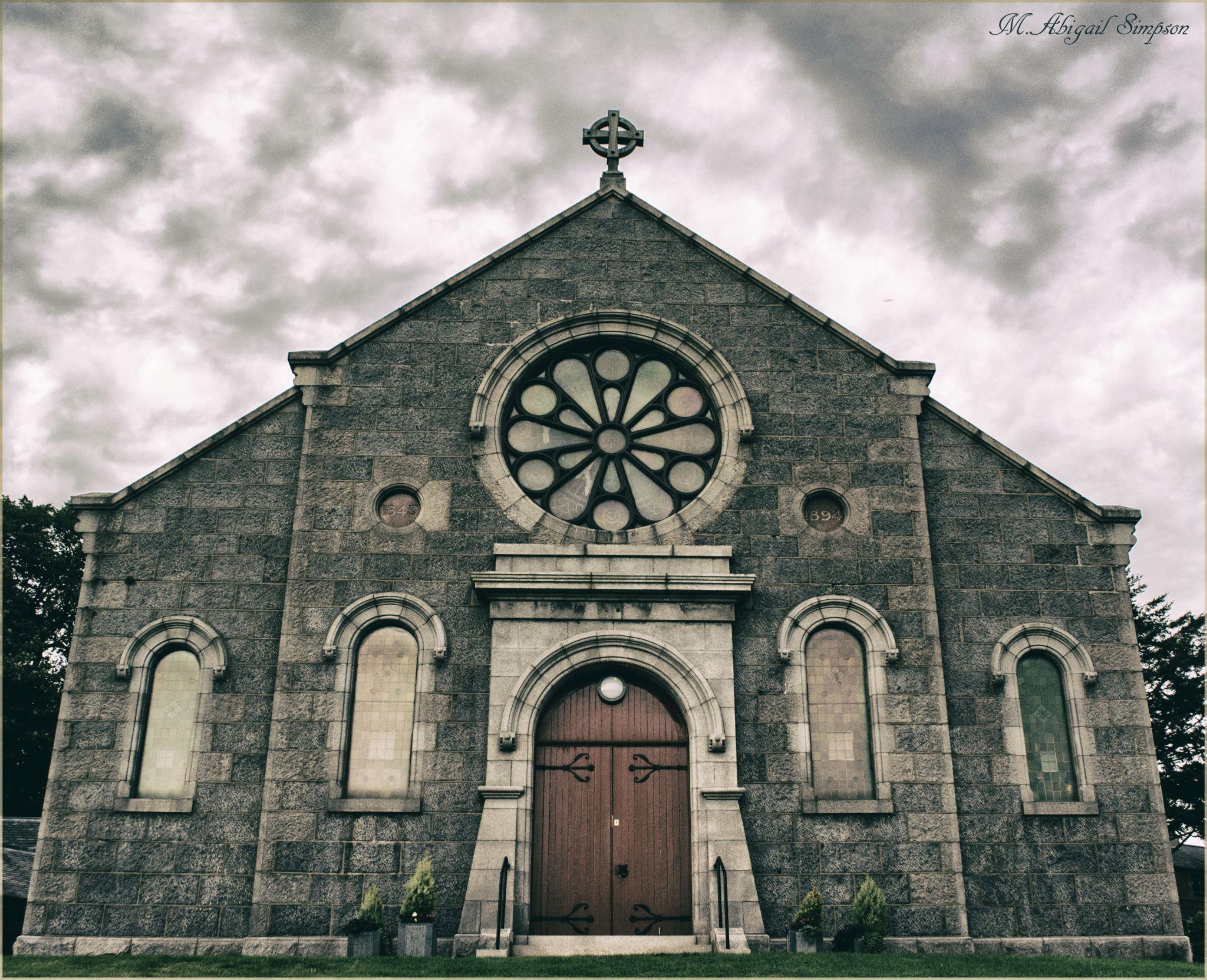 Peterculter Parish Church by Abigail Simpson