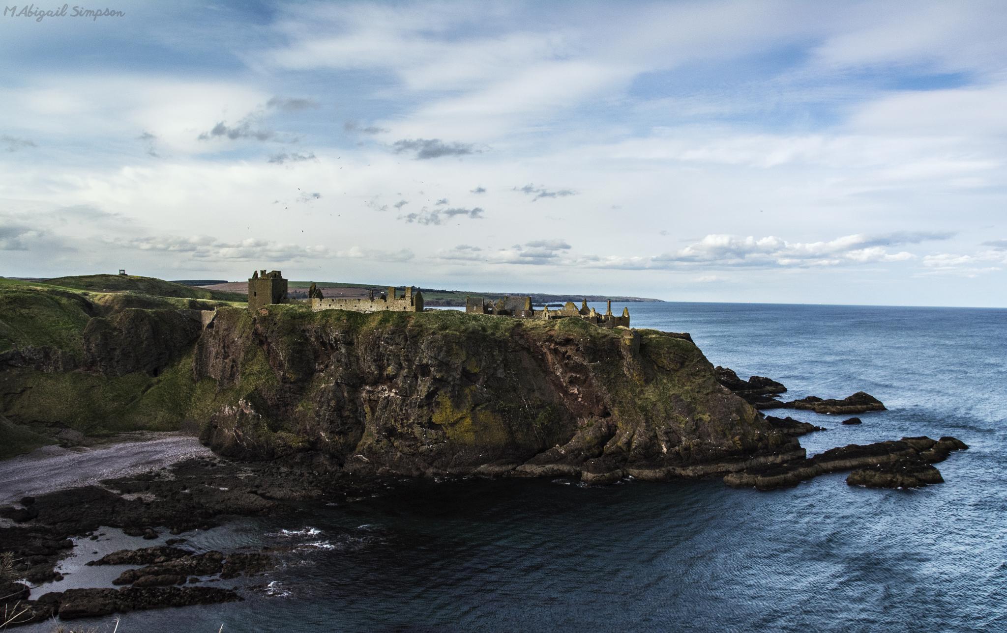 Dunnottar Castle  by Abigail Simpson
