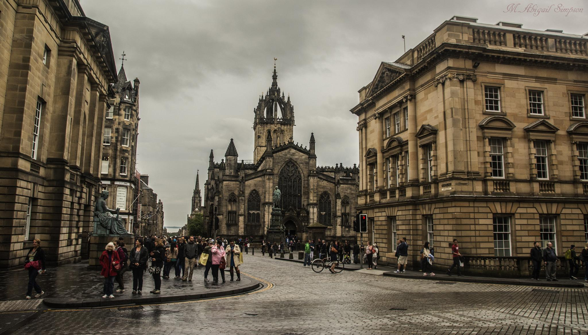 The Royal Mile by Abigail Simpson
